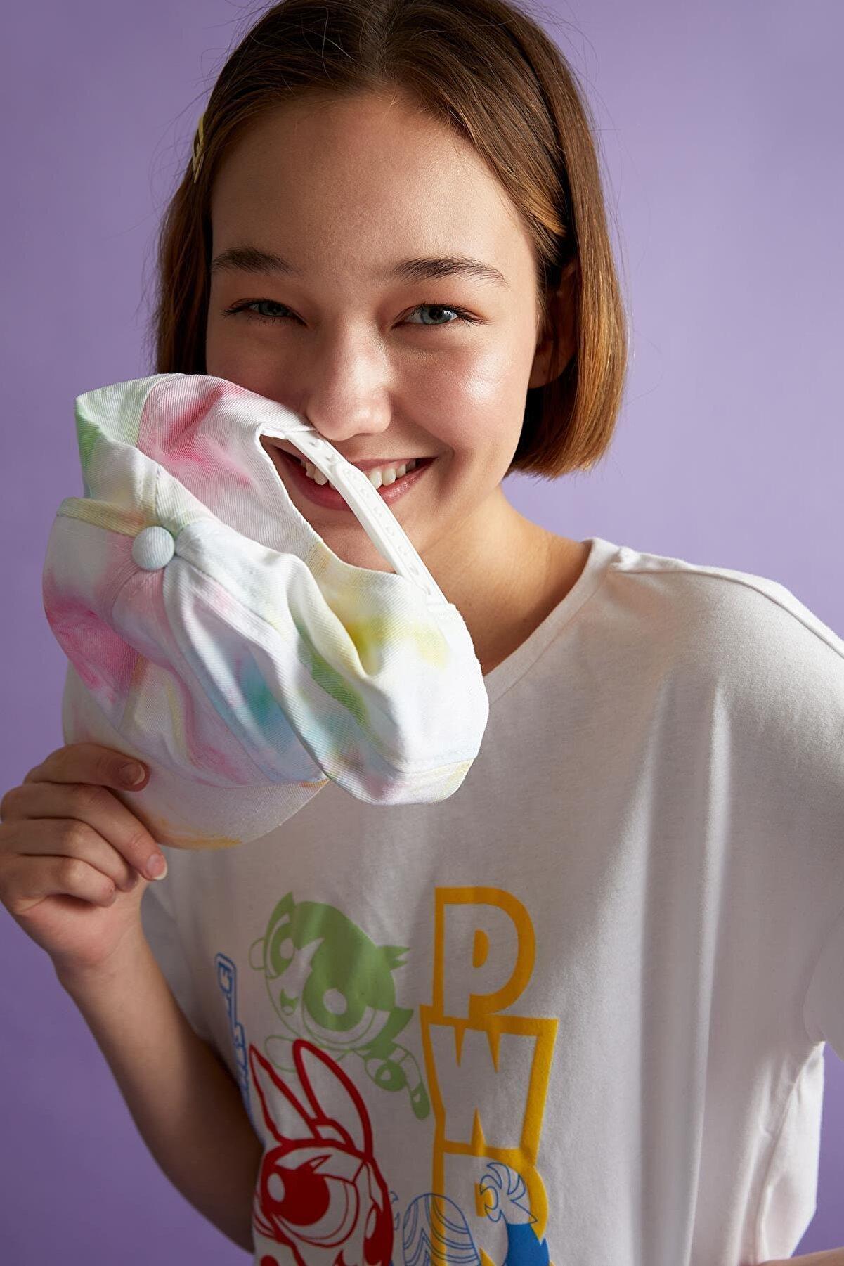 Defacto Coool Powerpuff Girls Lisanslı Relax Fit Kısa Kollu Tişört