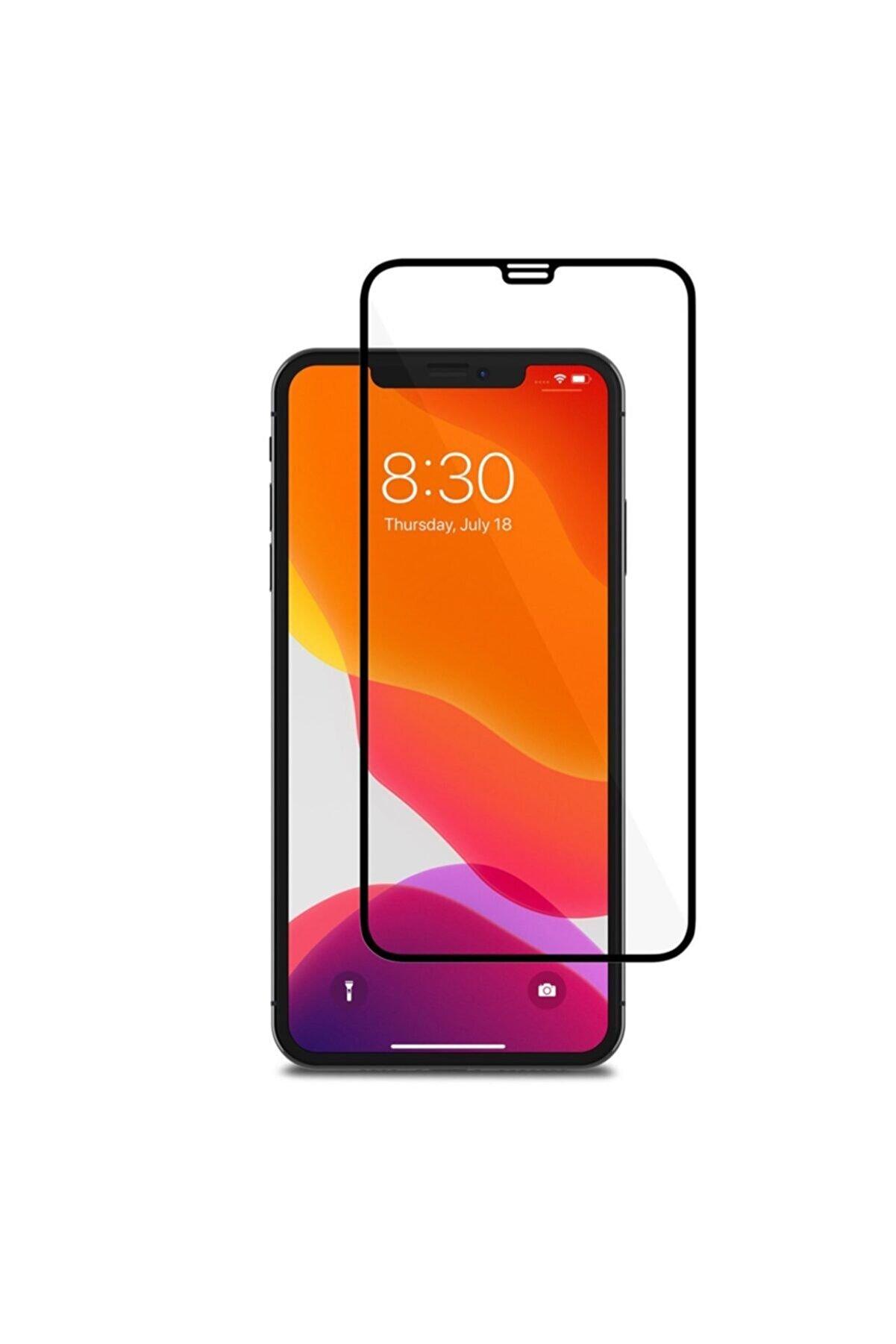 POWELL Iphone 11 Tam Kaplayan Ekran Koruyucu Seramik Ekran Cam Filmi Kırılmaz Cam Jelatin Kaplama