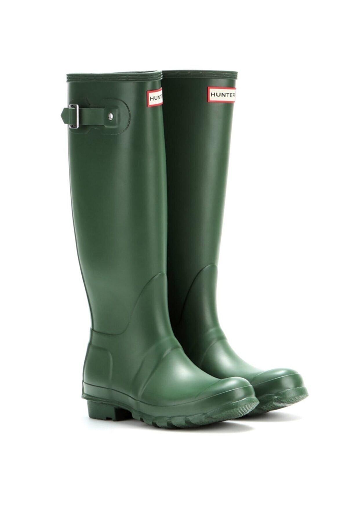 Hunter Original Tall Wellington Rain Boot - Çizme, Yeşil