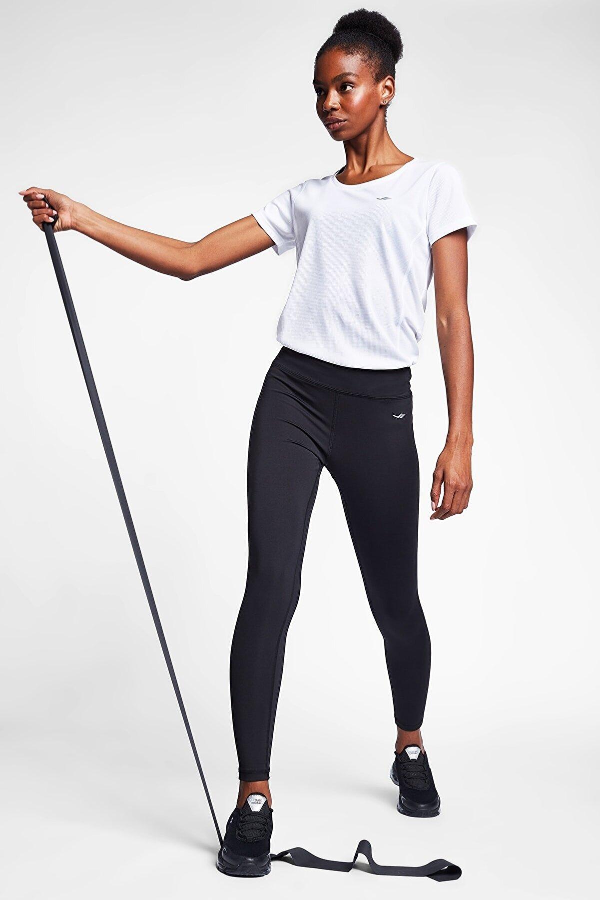 Lescon Siyah Kadın Tayt 20s-2251