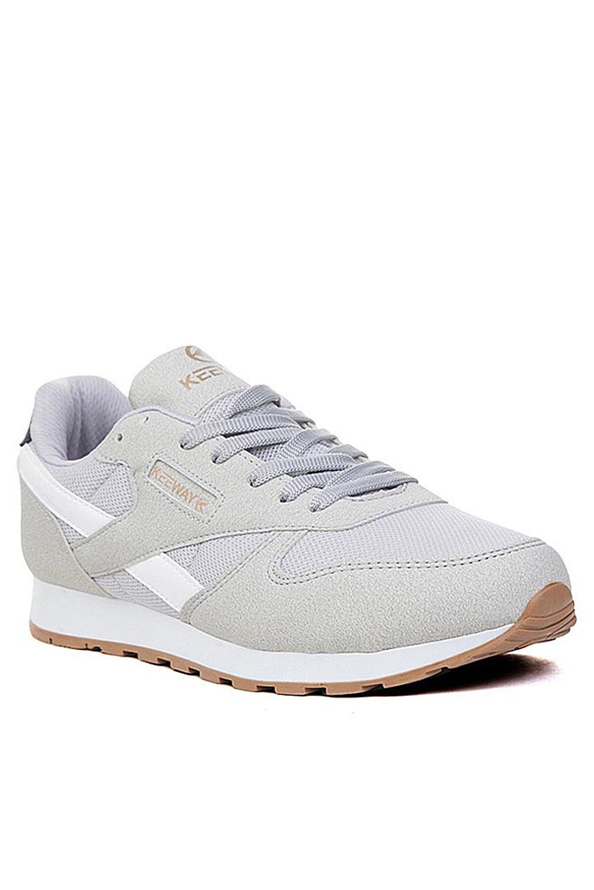 Giyyin Günlük Spor Ayakkabı Erkek Kadın Gri Kw853402