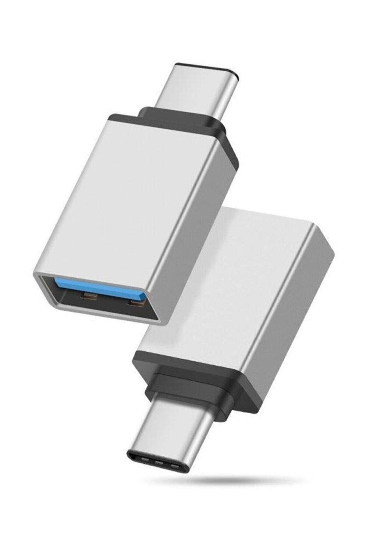 ACL Usb To Type-c  Dönüştürücü Otg Çevirici Adaptör Metal