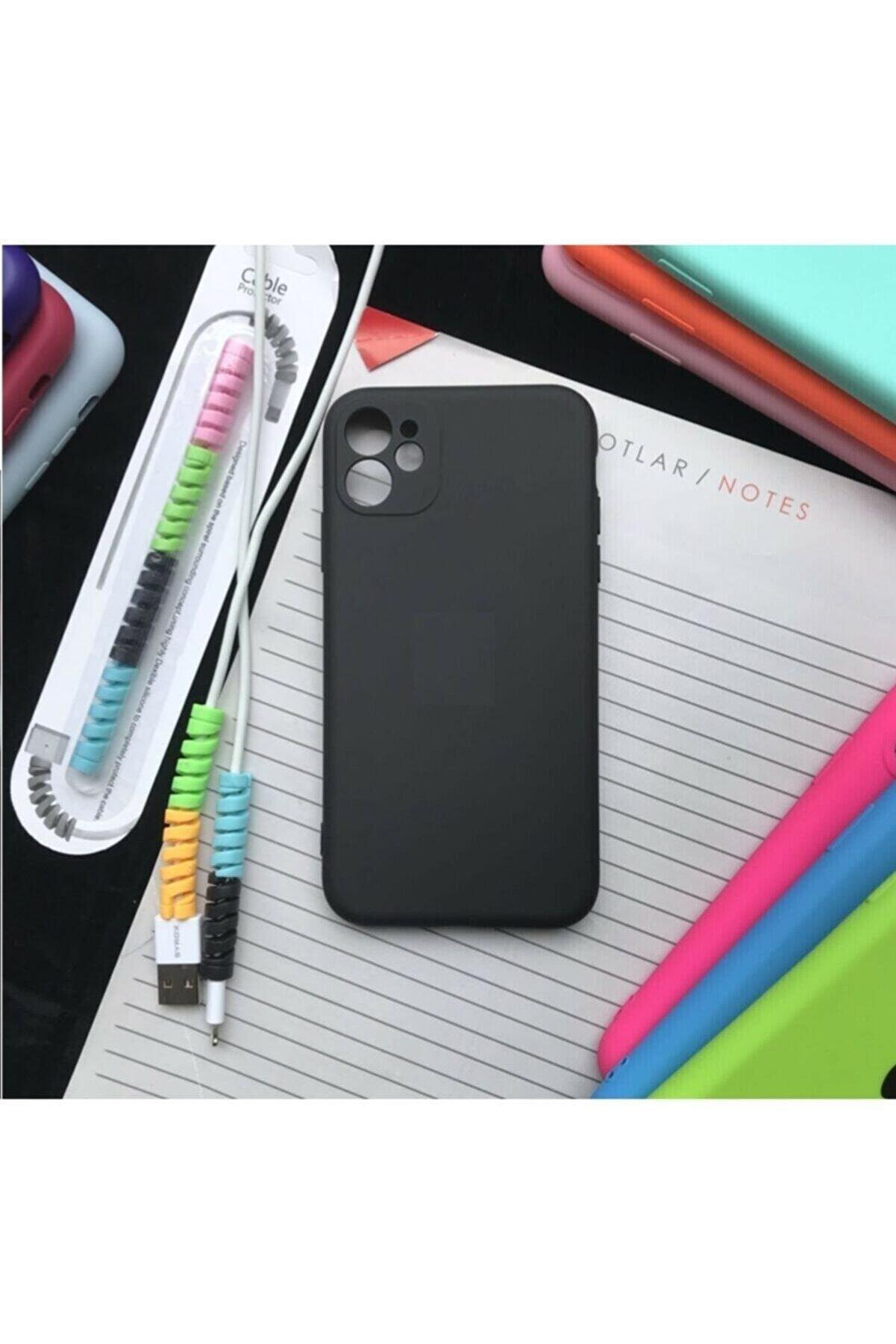 SUPPO Iphone 11 Kamera Korumalı Model, Logolu Lansman Kılıf