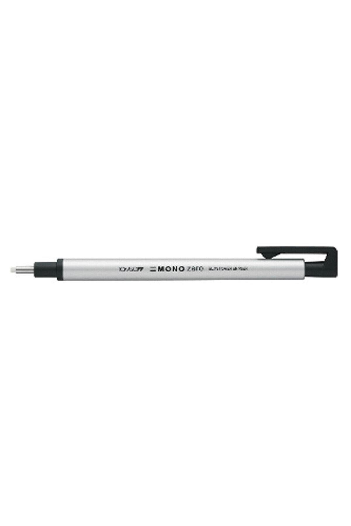 Tombow Mono Zero Basmalı Kalem Silgi 2,3mm - Gümüş 195336