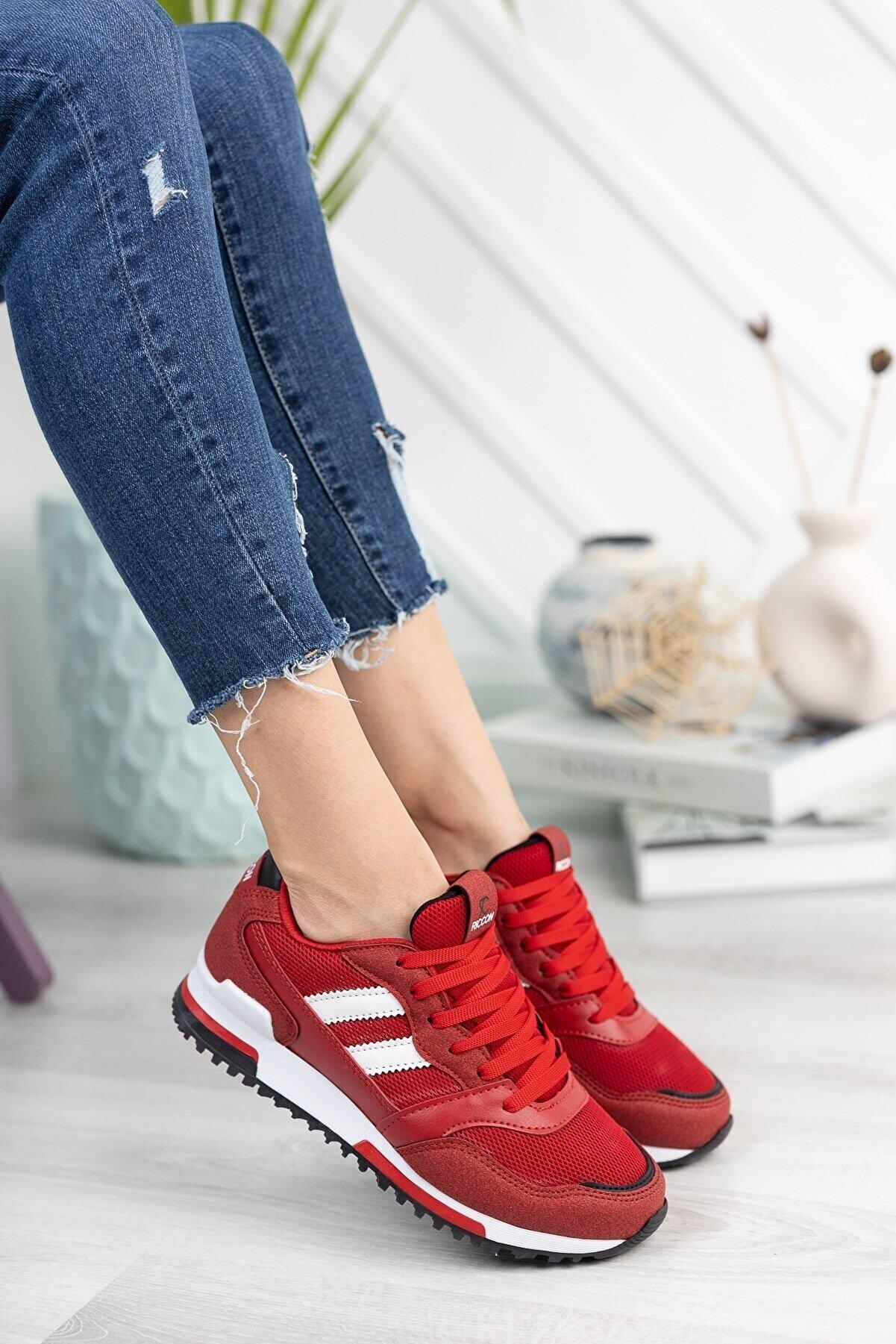 Riccon Kırmızı Unisex Sneaker 0012863