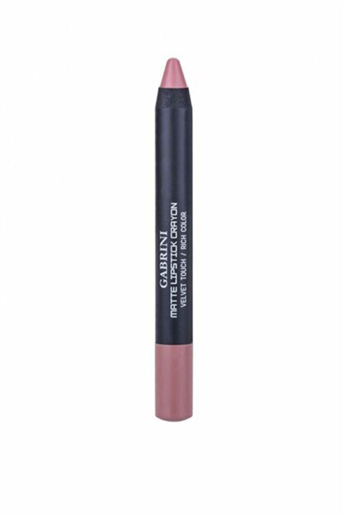 Gabrini Mat Ruj - Matte Lipstick Crayon 02 8696814090027