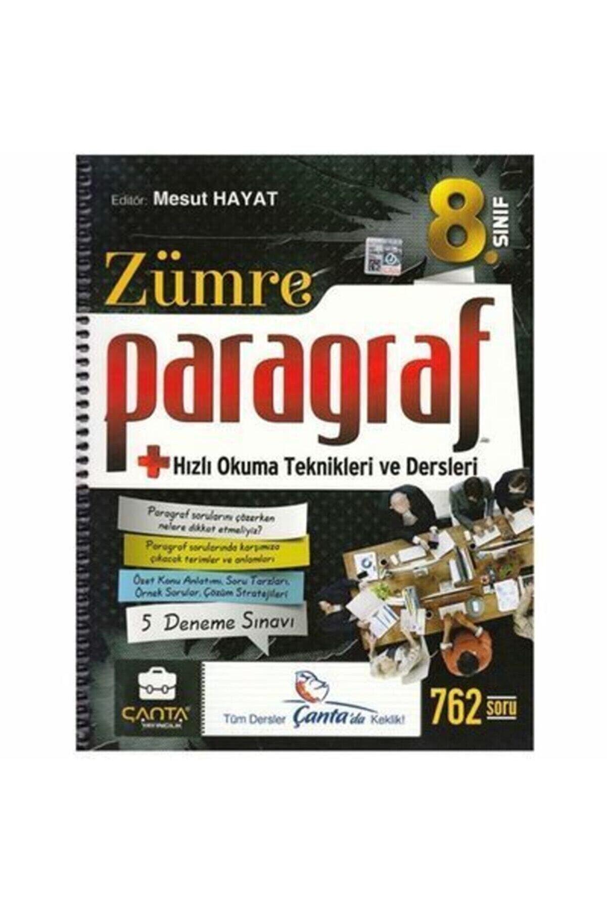 Çanta Yayınları 8. Sınıf Zümre Paragraf(2021-2022)