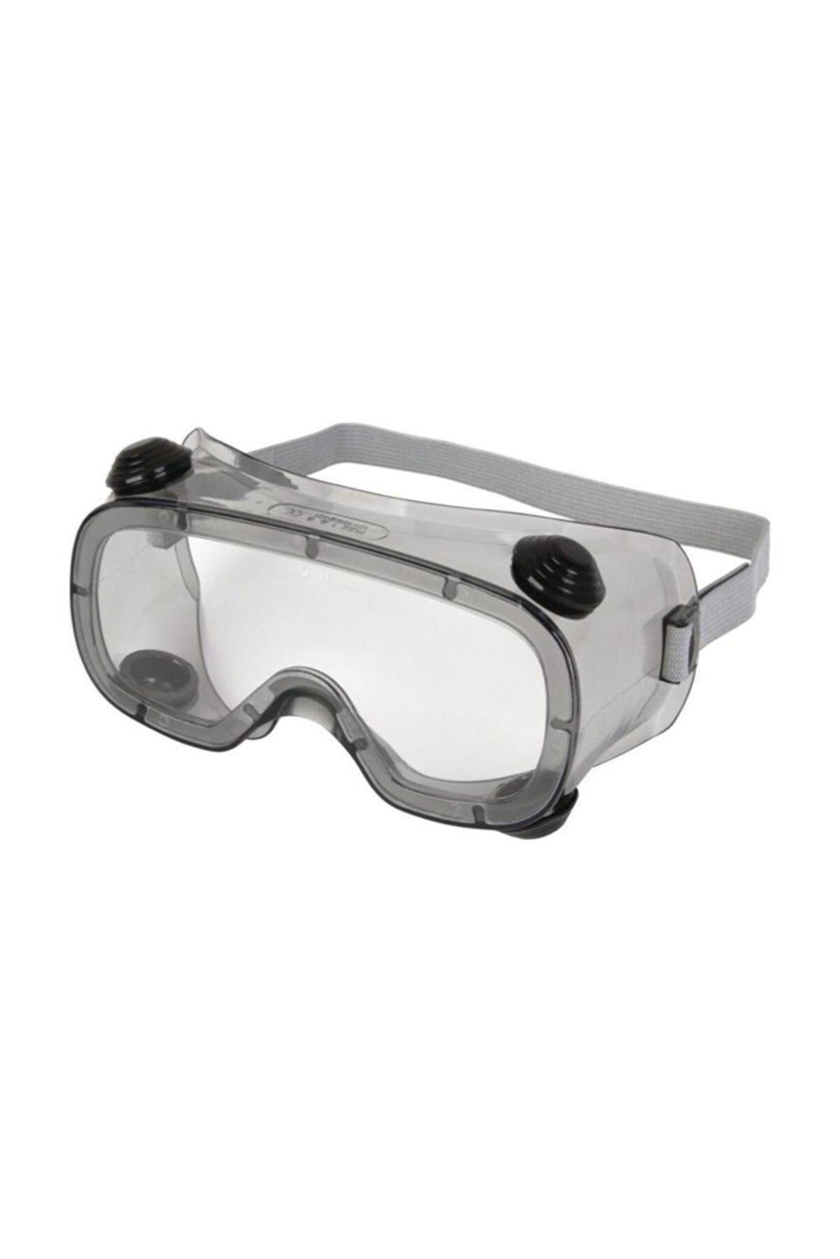Delta Plus Ruiz 1 Şeffaf Goggle Koruyucu Iş Gözlüğü