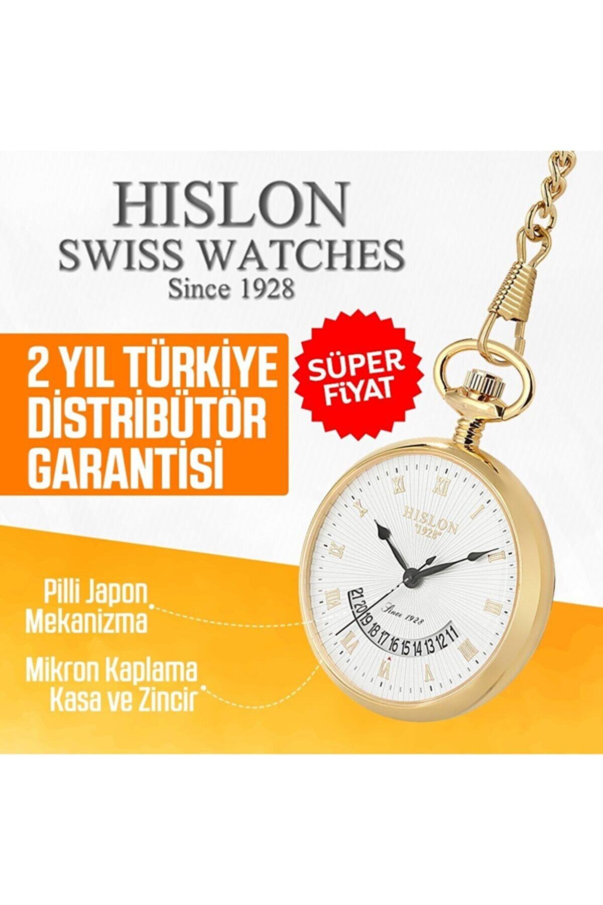 Hislon Hıslon 9085-12113 Köstekli Cep Saati
