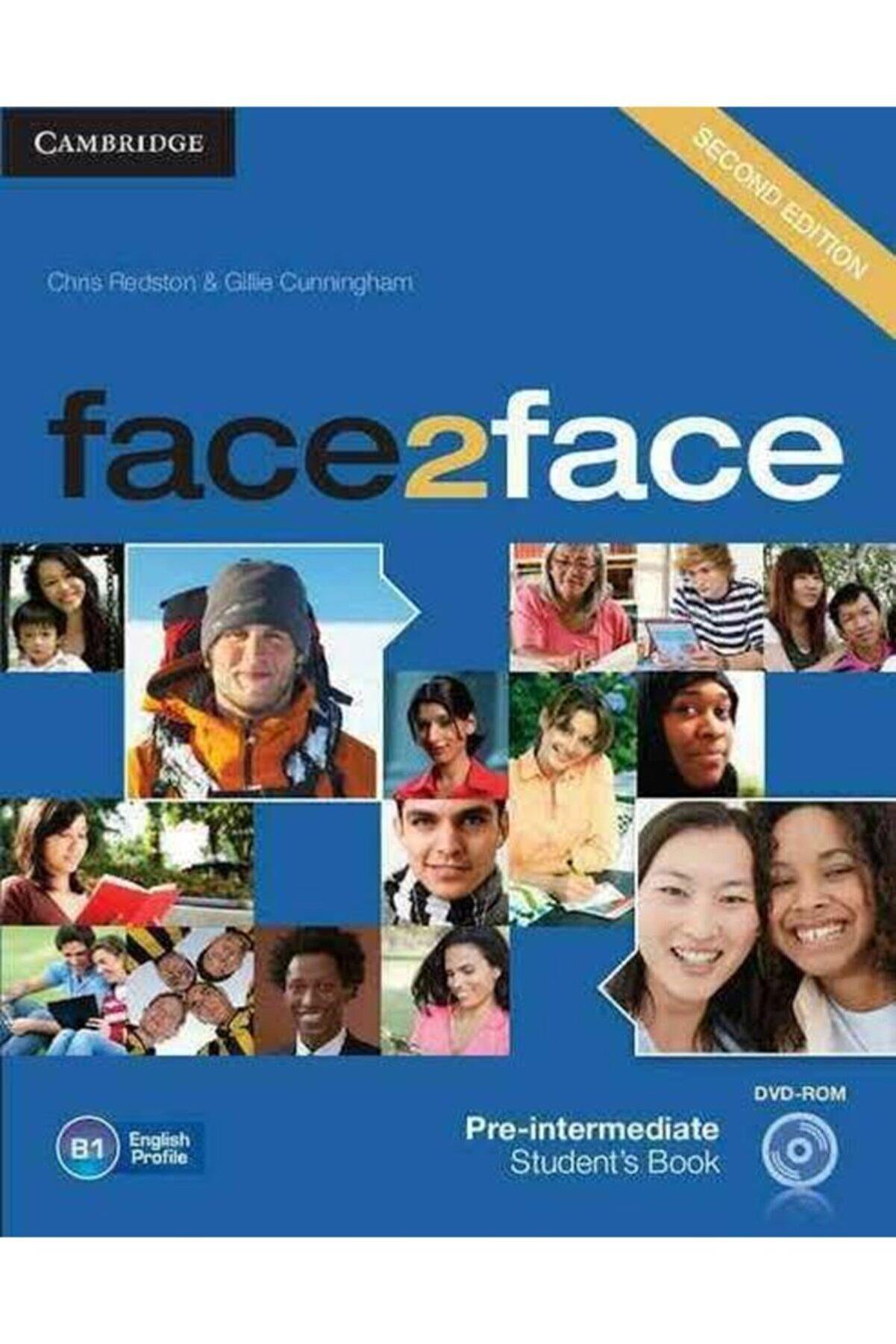 Cambridge Face2face,2ed,pre-intermediate Sb+dvd-rom+ Wb