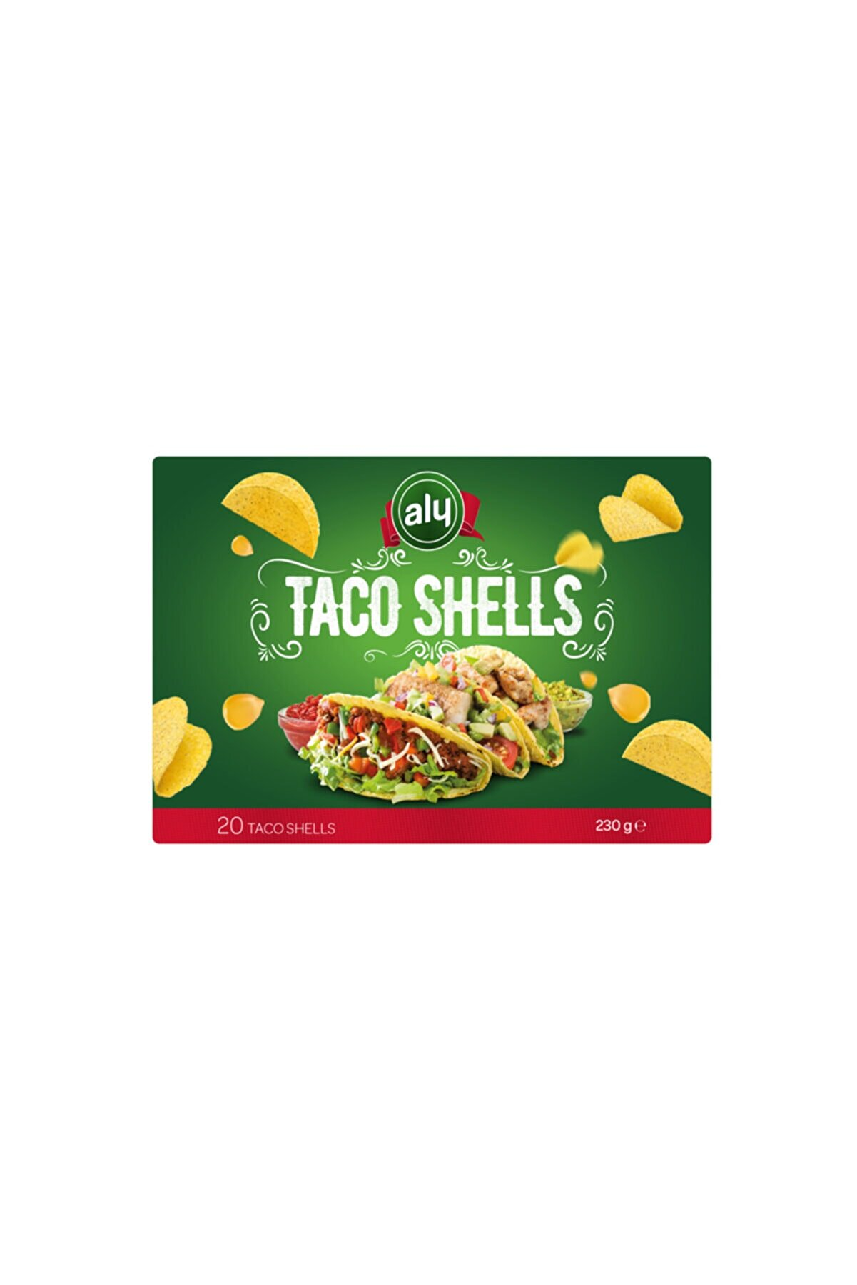 Aly Taco Shells 20'li Paket 230 gr