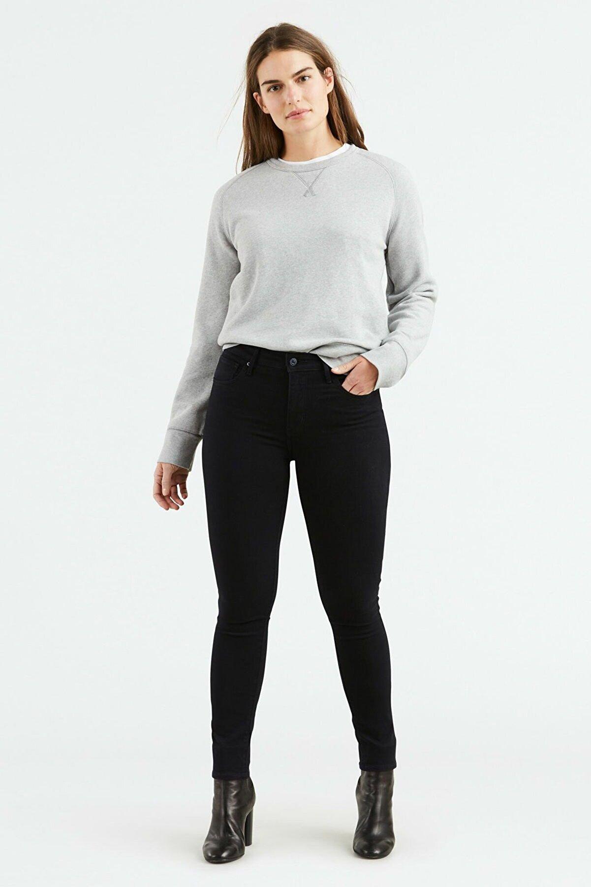 Levi's Kadın Siyah High Rise Skinny Jean