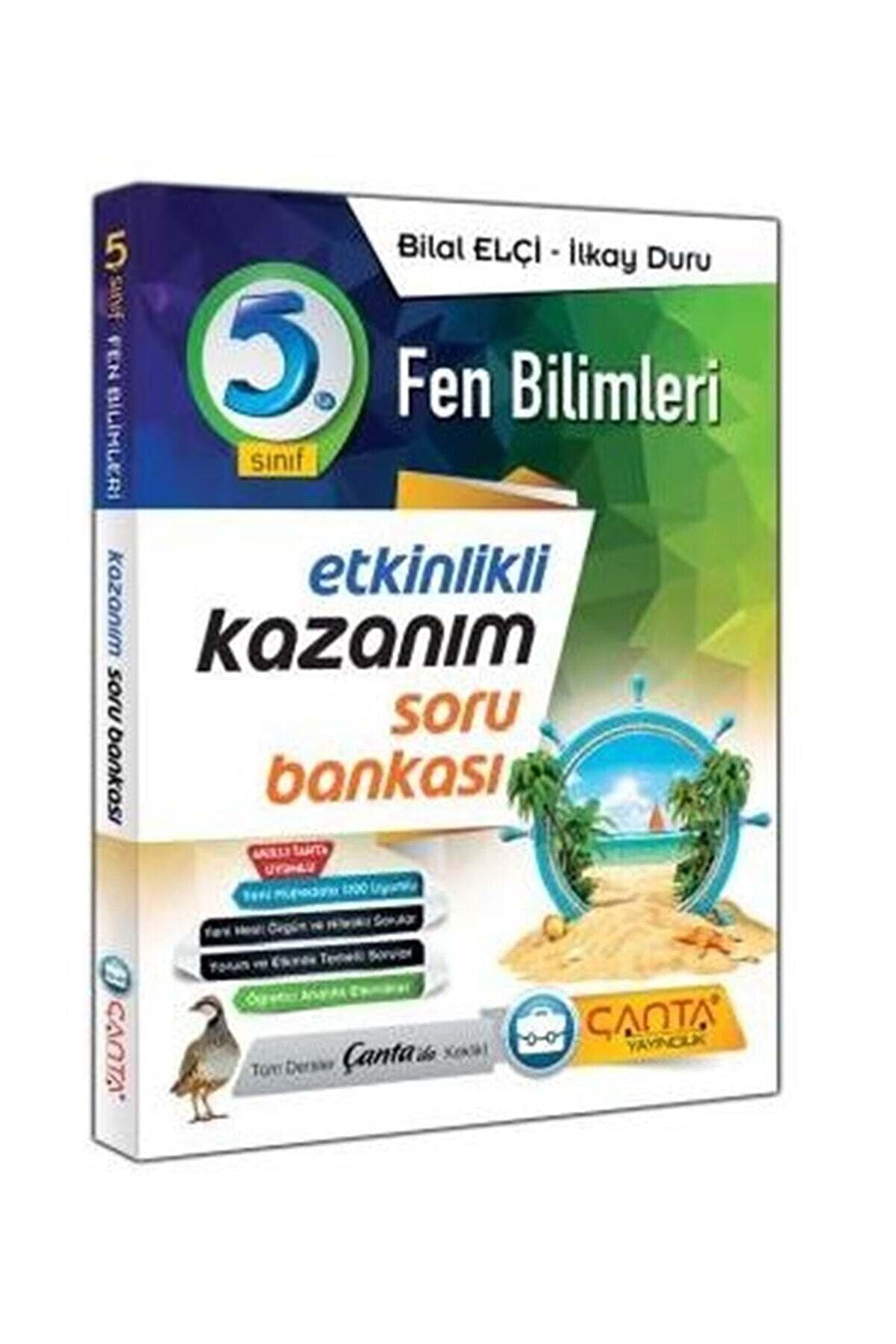 Çanta Yayınları 5.sınıf Fen Bilimleri Etkinlikli Kazanım Soru Bankası