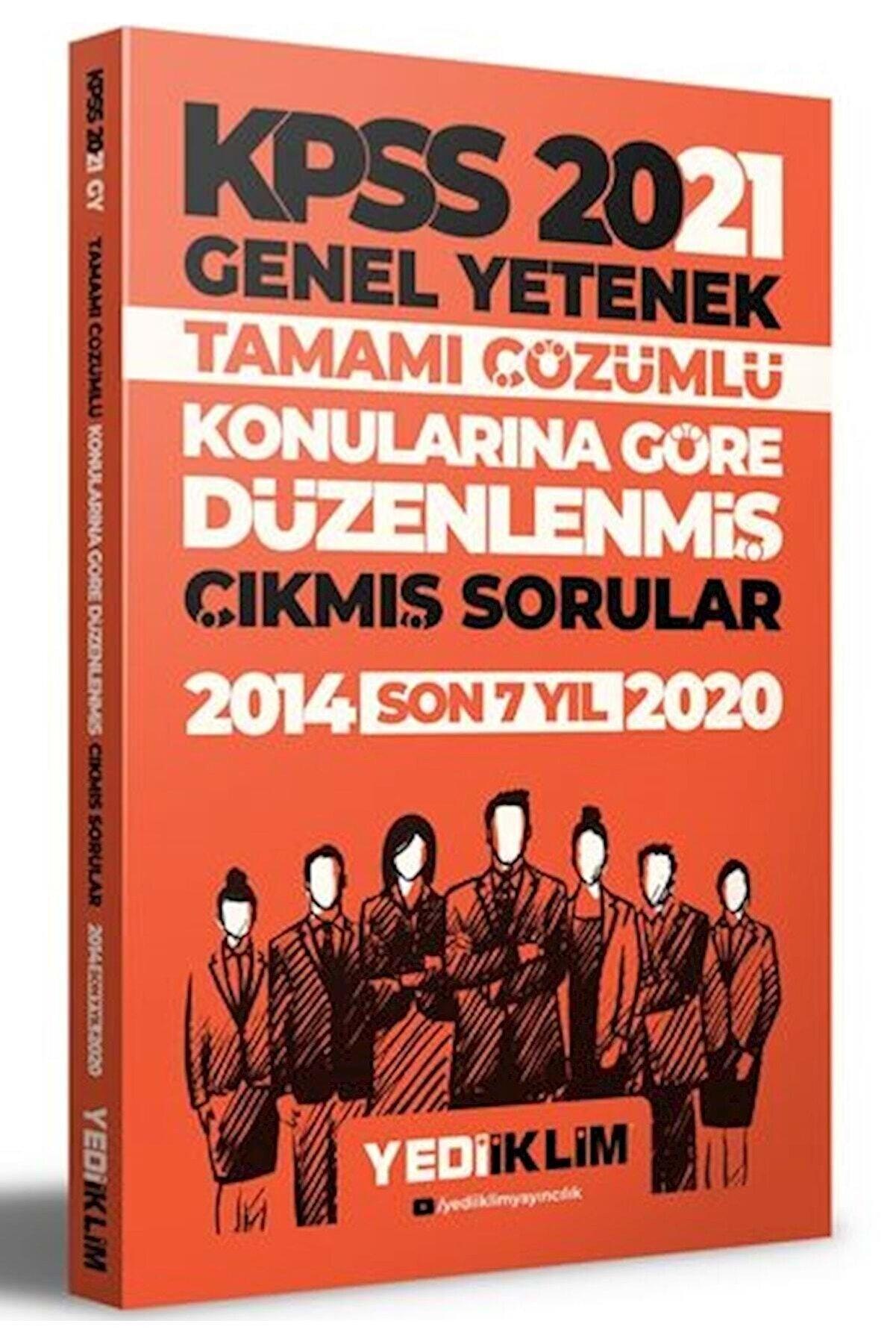 Yediiklim Yayınları 2021 Kpss Genel Yetenek Çıkmış Sorular Konularına Göre Çözümlü
