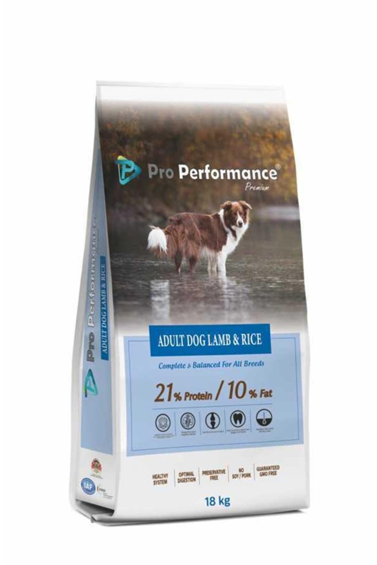 Pro Performance Premium Kuzu Etli Yetişkin Köpek Maması 18 kg