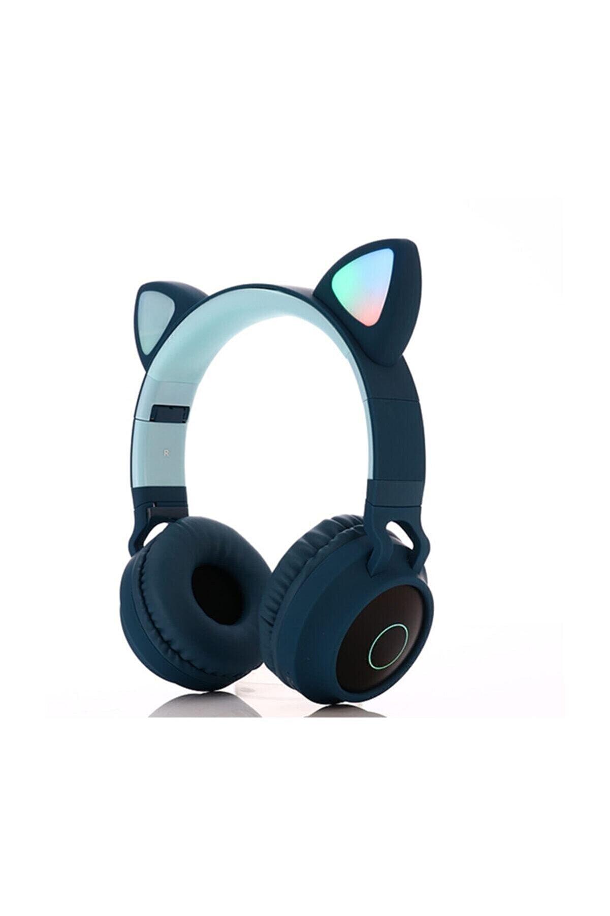 T G T&G-BT028C Kablosuz Bluetooth 5.0 Stereo Yüksek Ses Akıllı LED Kulaklık
