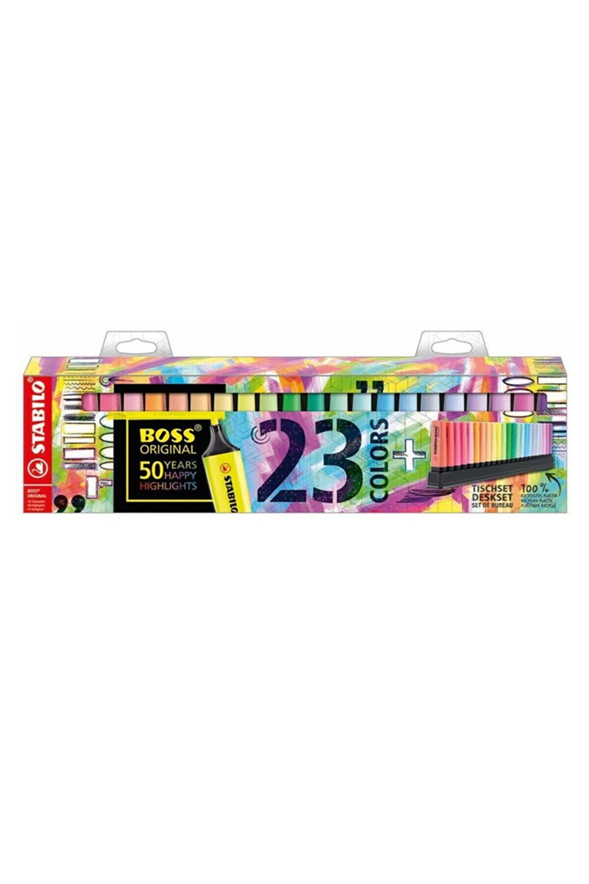 Stabilo Boss Original 50.yıla Özel Fosforlu Kalem Seti 7023-01-5
