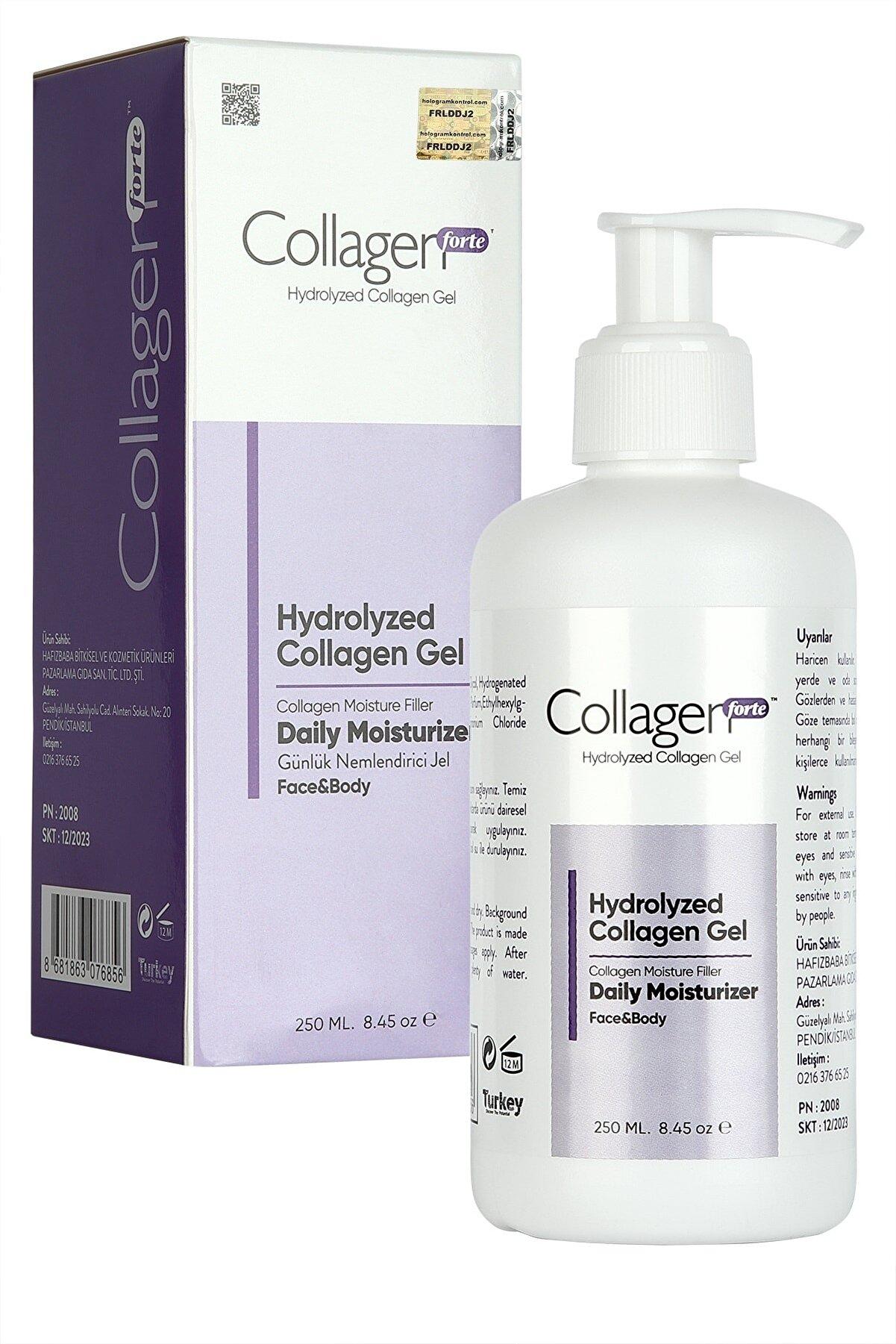Collagen Forte Hydrolyzed Vücut Ve Yüz Bakım Jeli Collagen Gel 250 ml
