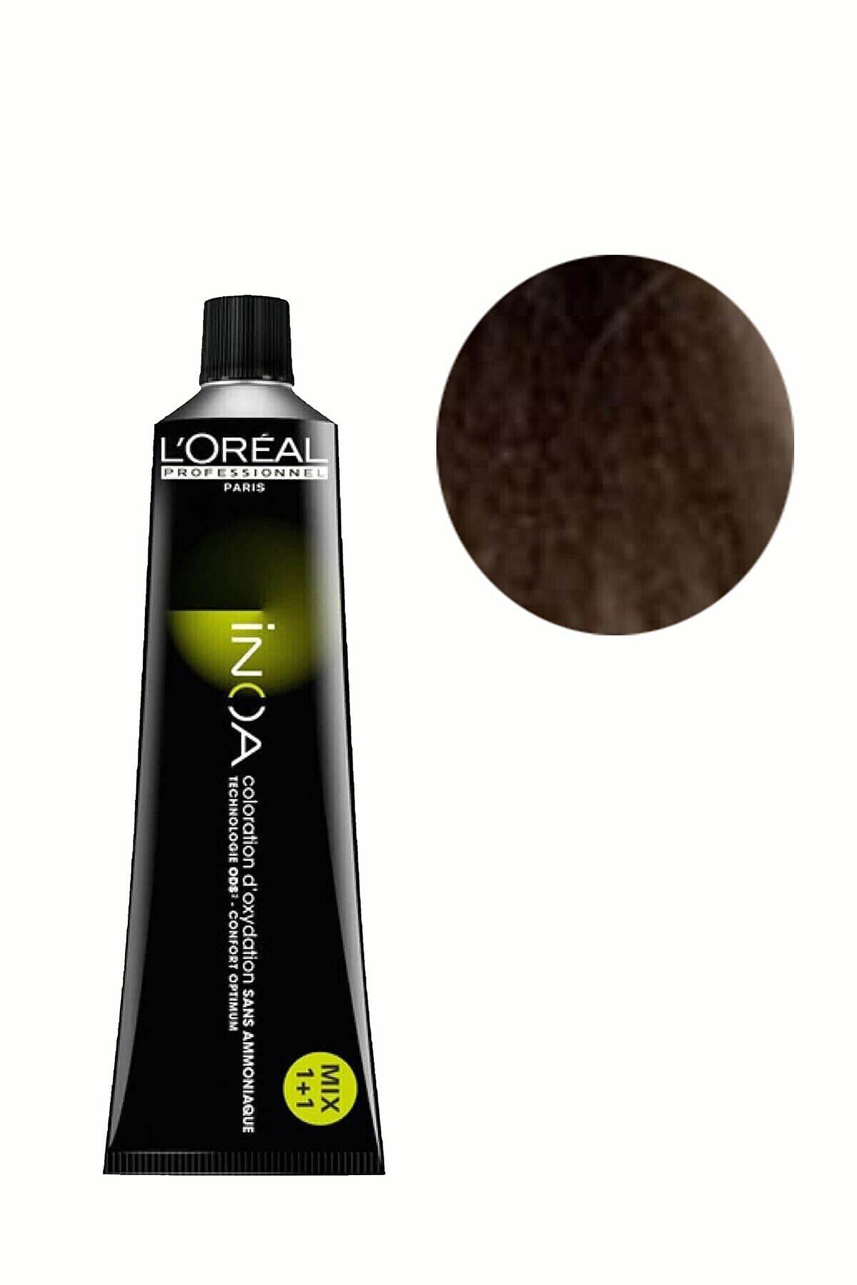 İNOA 8,11 Açık Kumral Yoğun Küllü Saç Boyası 3474630568525