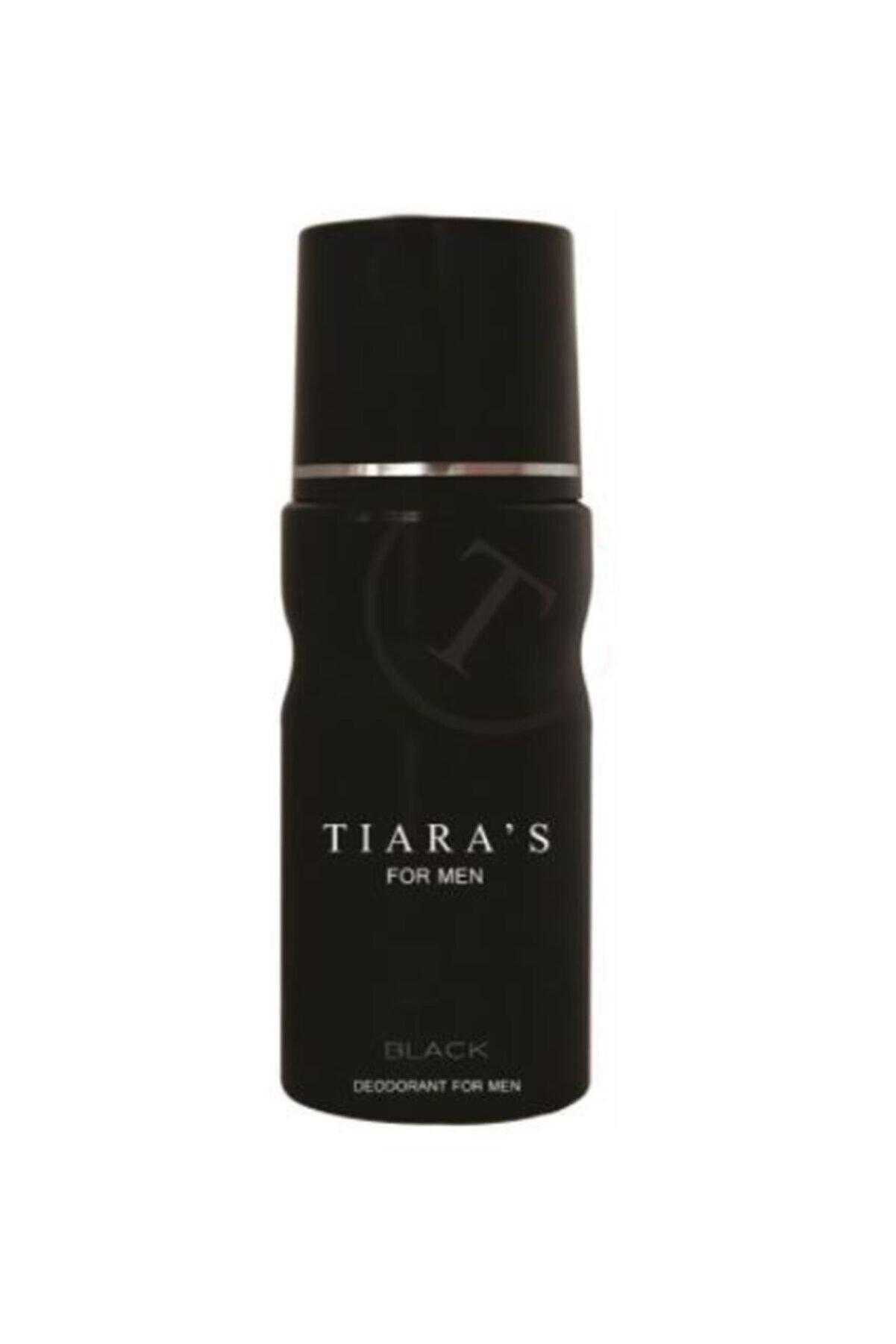 Tiaras Tıara's Black Deodorant Man 150ml