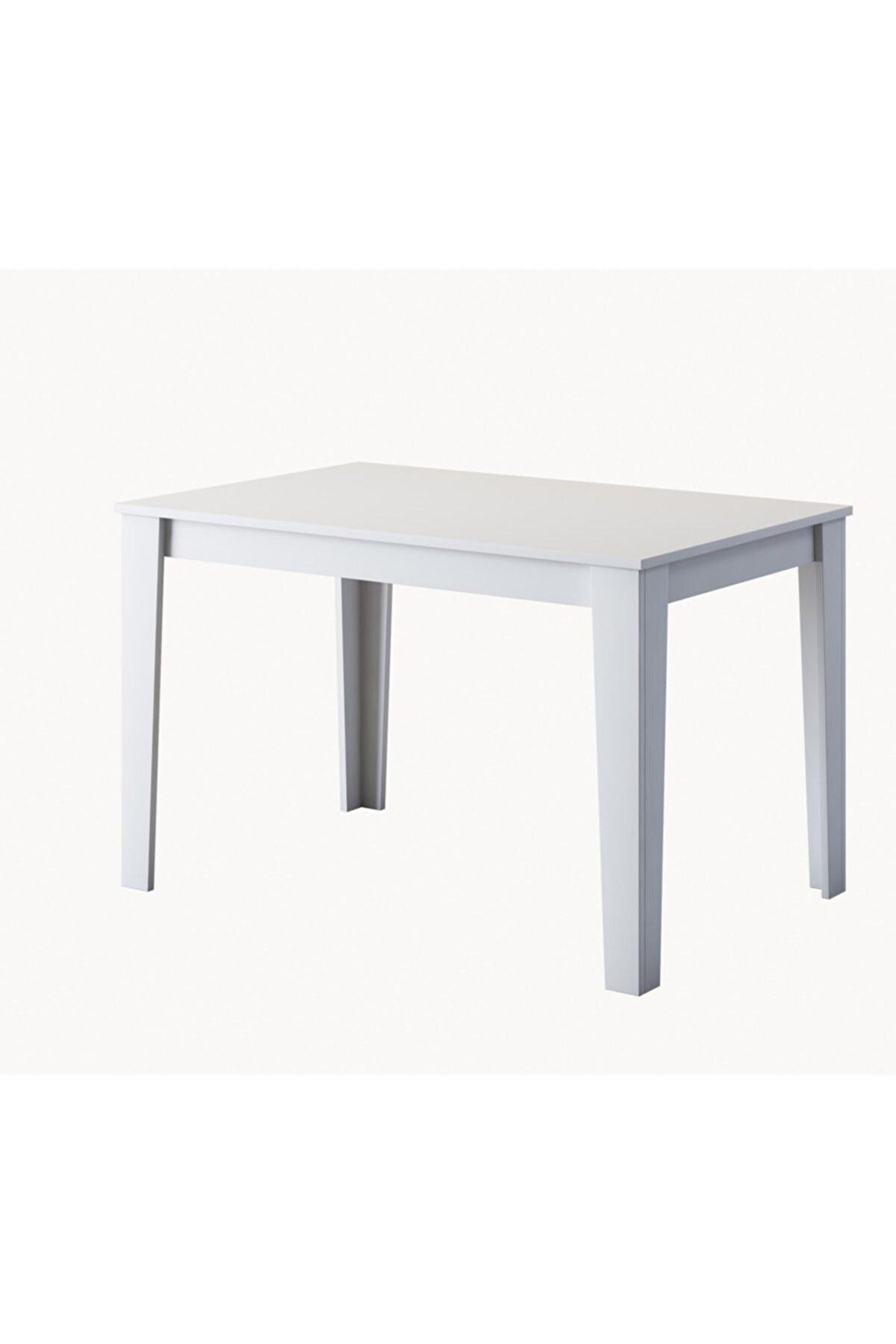 Rani Mobilya Rani T1 Mutfak Masası 110 cm Beyaz M2