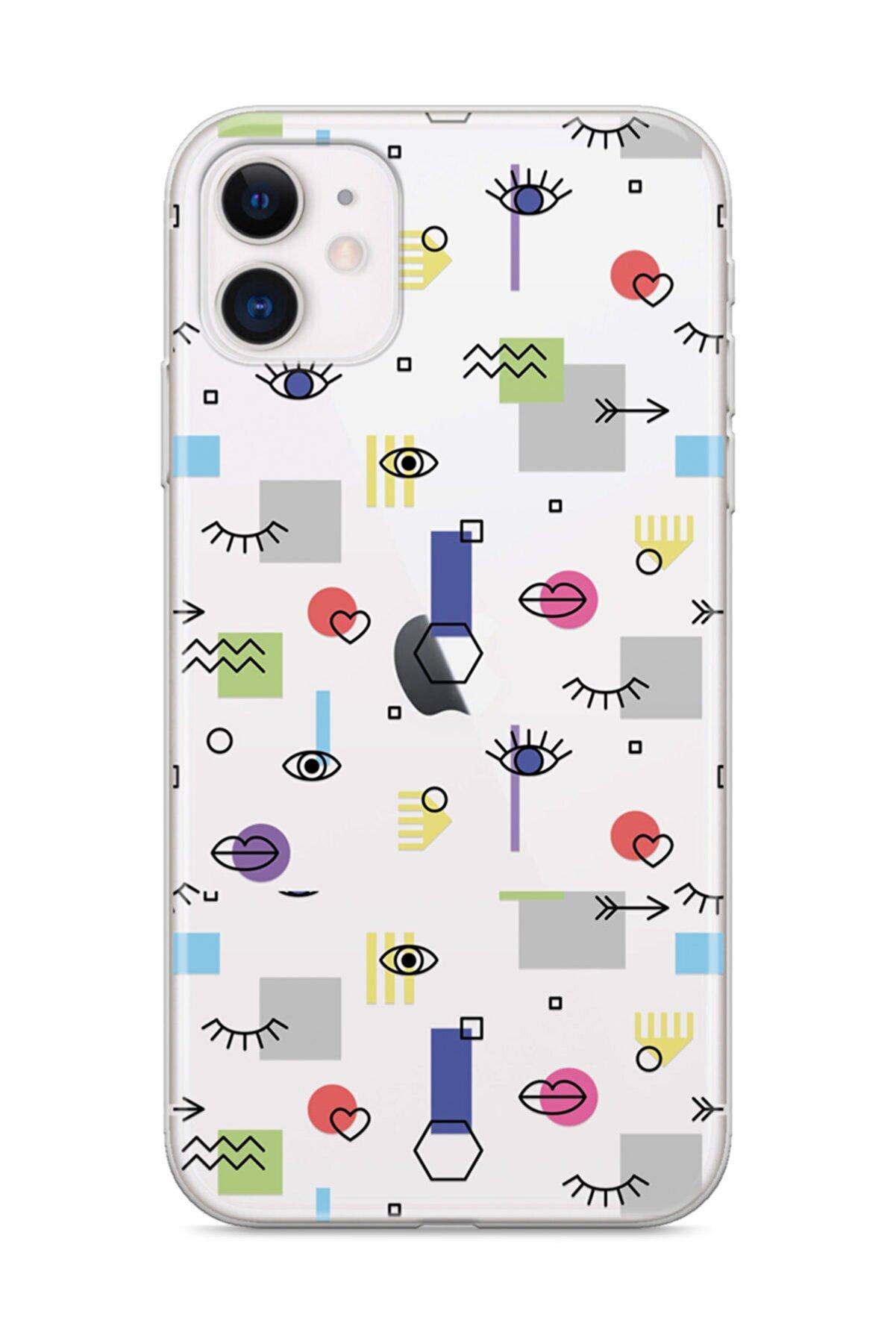 wowicase Apple Iphone 11 Telefon Kılıfı Gözlerden Kalbe Tasarımlı