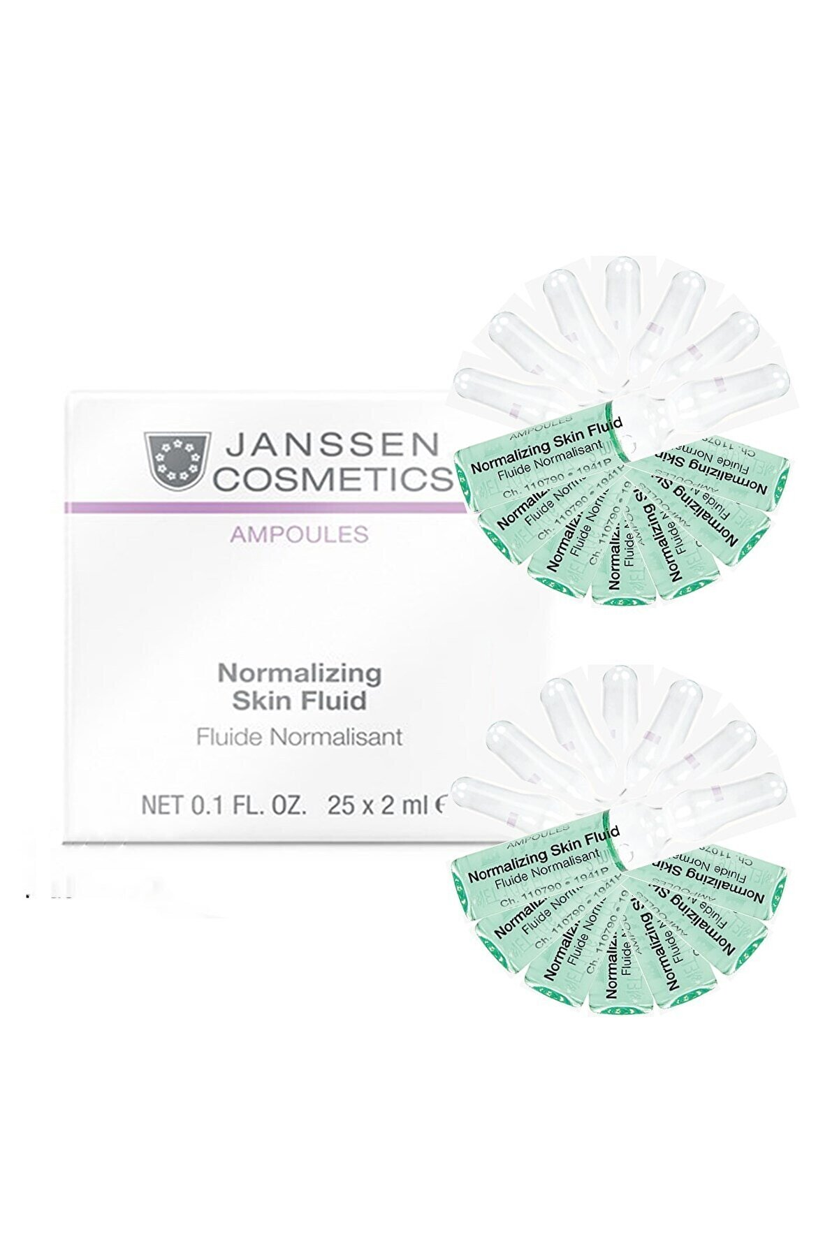 Janssen Cosmetics Janssen Normalizing Skin 14'lü Paket 4040943008899