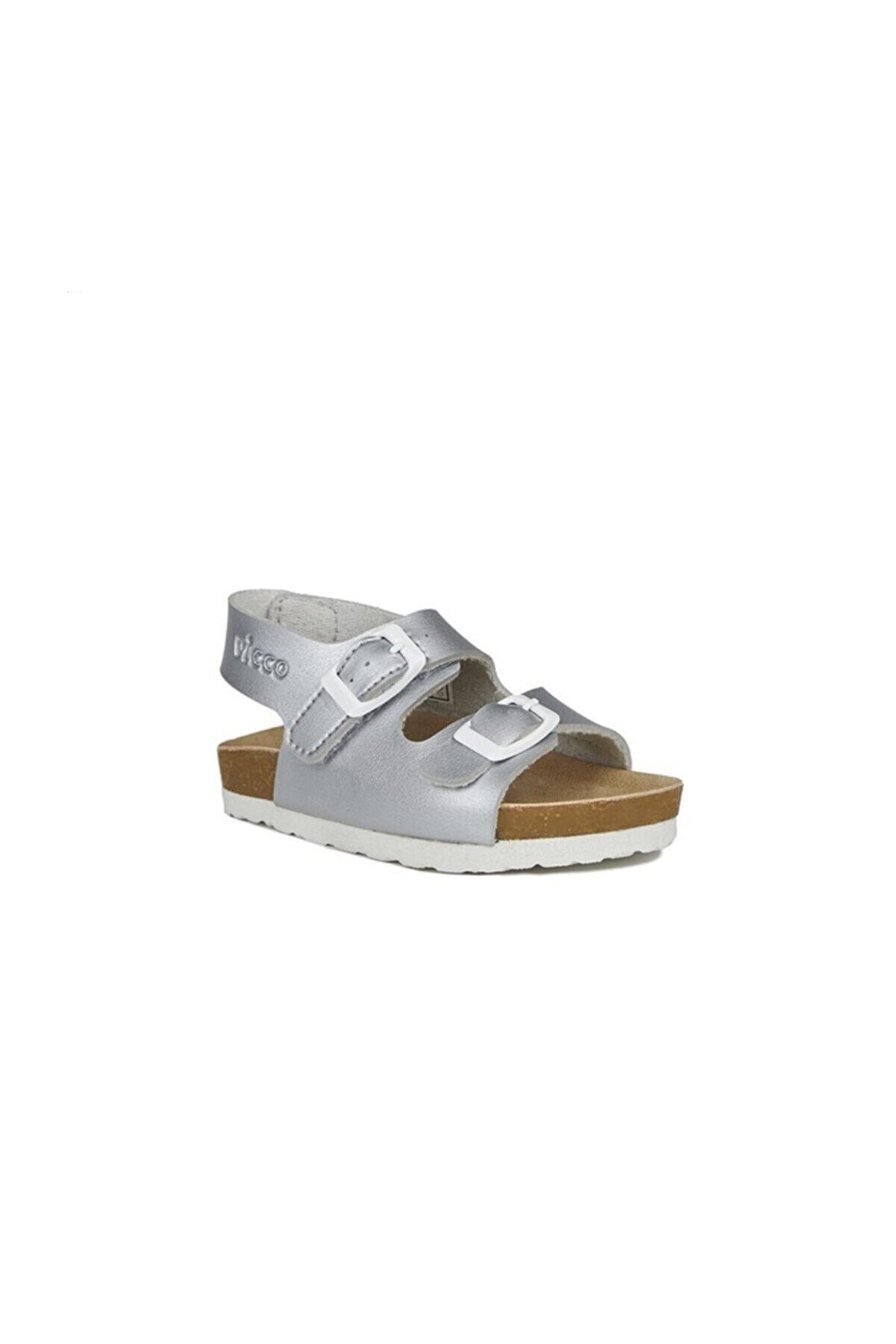 Vicco 321.p20y.360 Gümüş (26-30) Anatomik Çocuk Sandalet Ayakkabı