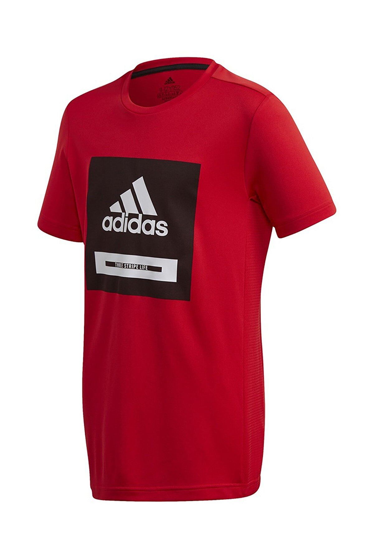 adidas FK9505-C adidas Jb Tr Bold Tee Çocuk T-Shirt Kırmızı