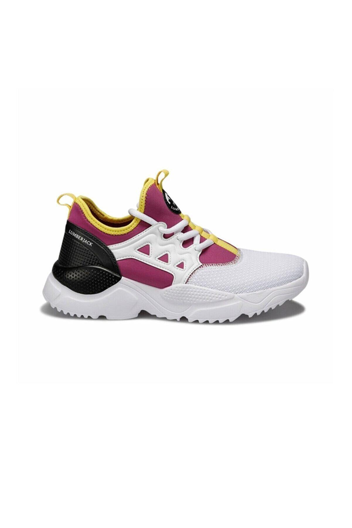 Lumberjack EVA Beyaz Kadın Sneaker Ayakkabı 100497050