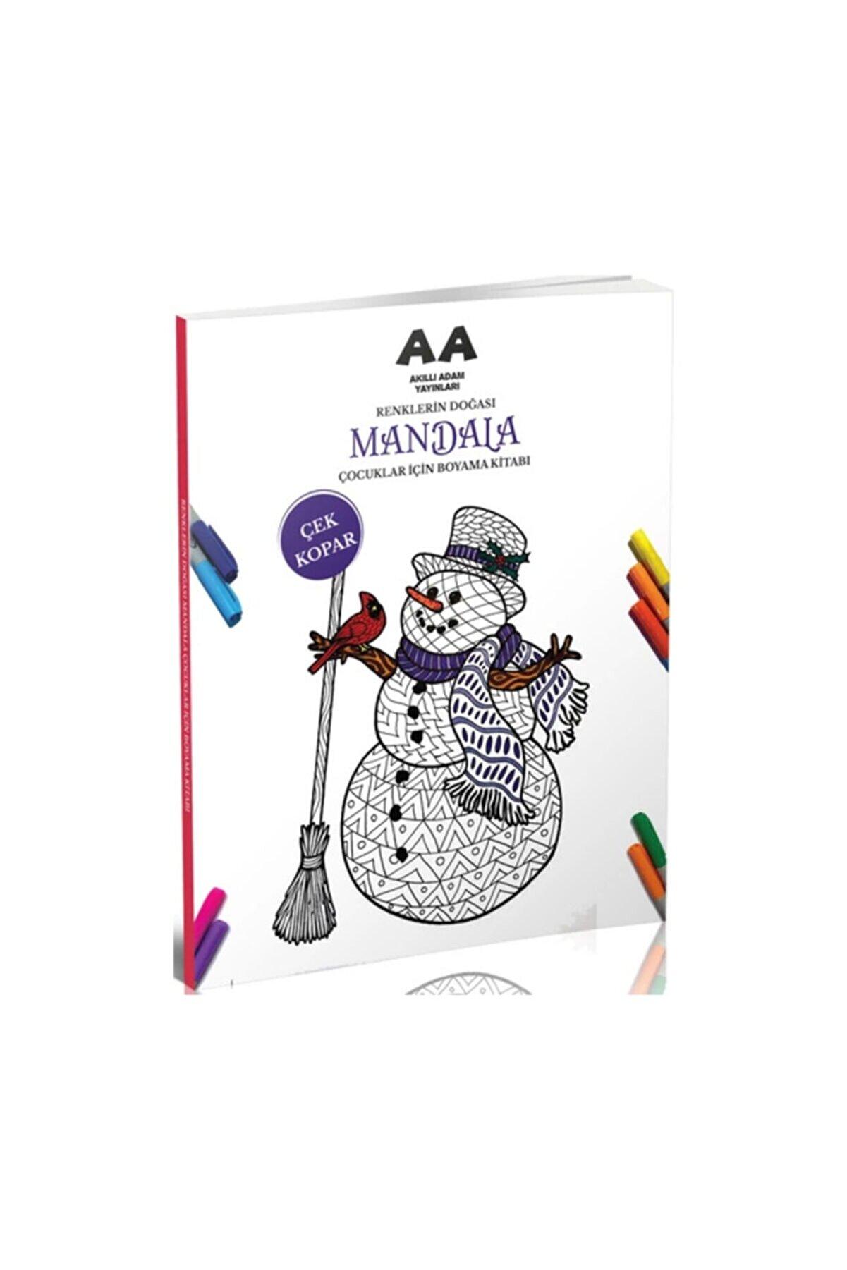 Akıllı Adam Yayınları Mandala Renklerin Doğası Çocuklar Için Boyama Kitabı