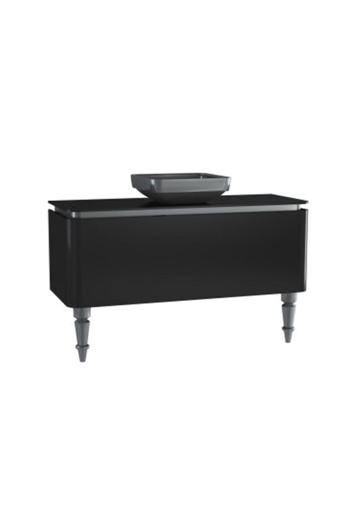 VitrA 55130 Gala Classıc 120 Cm Lavabo Dolabı,siyah-krom