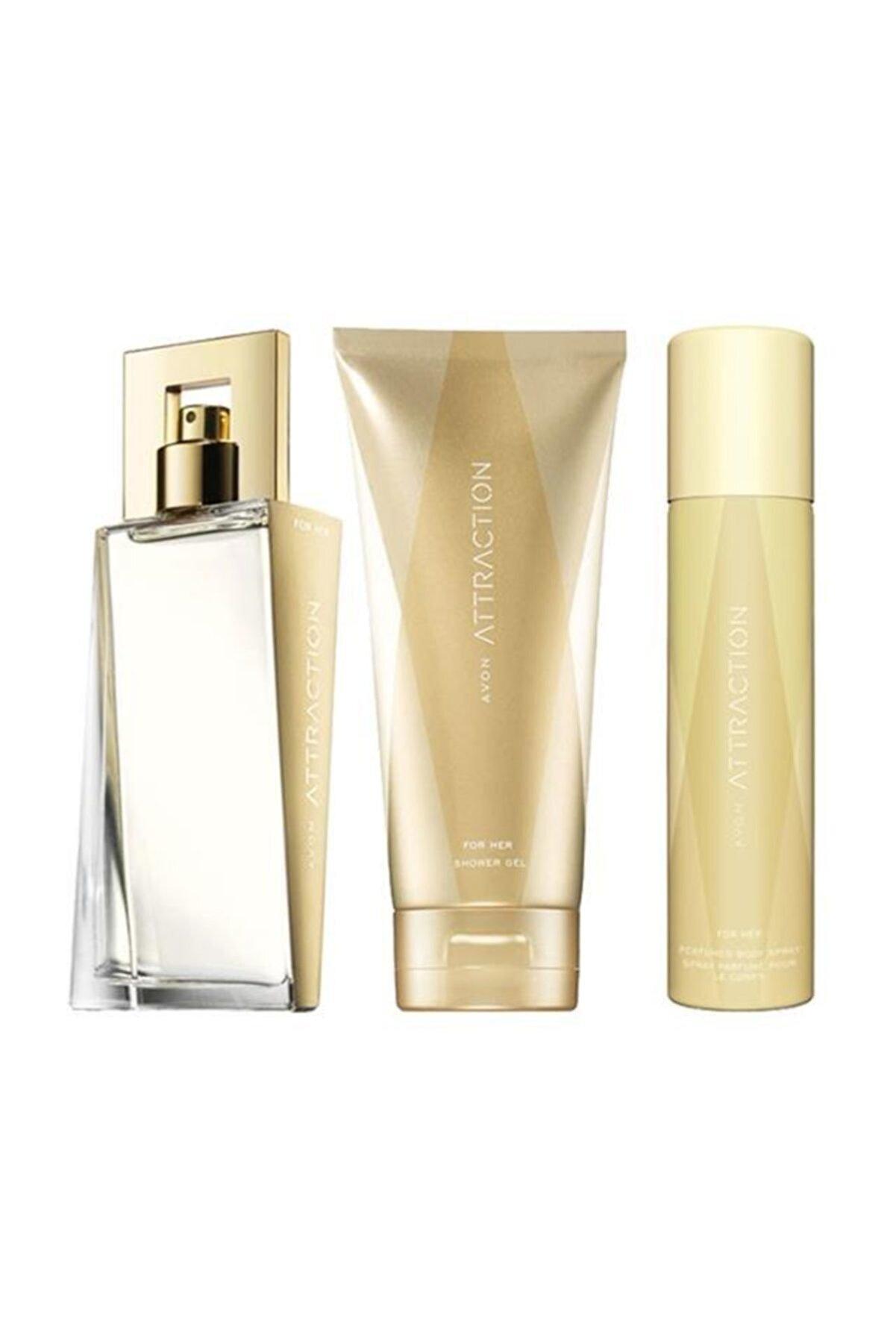 Avon Attraction Kadın Parfüm Seti 5050000010542