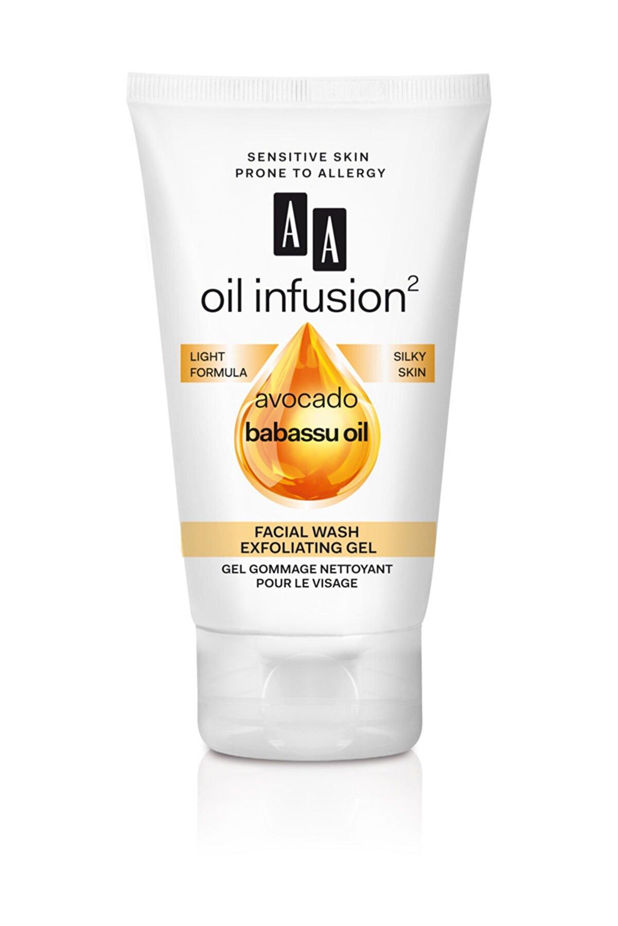 AA Cosmetics Oil Infusion2  Peeling Etkili Yüz Yıkama Jeli 150ml