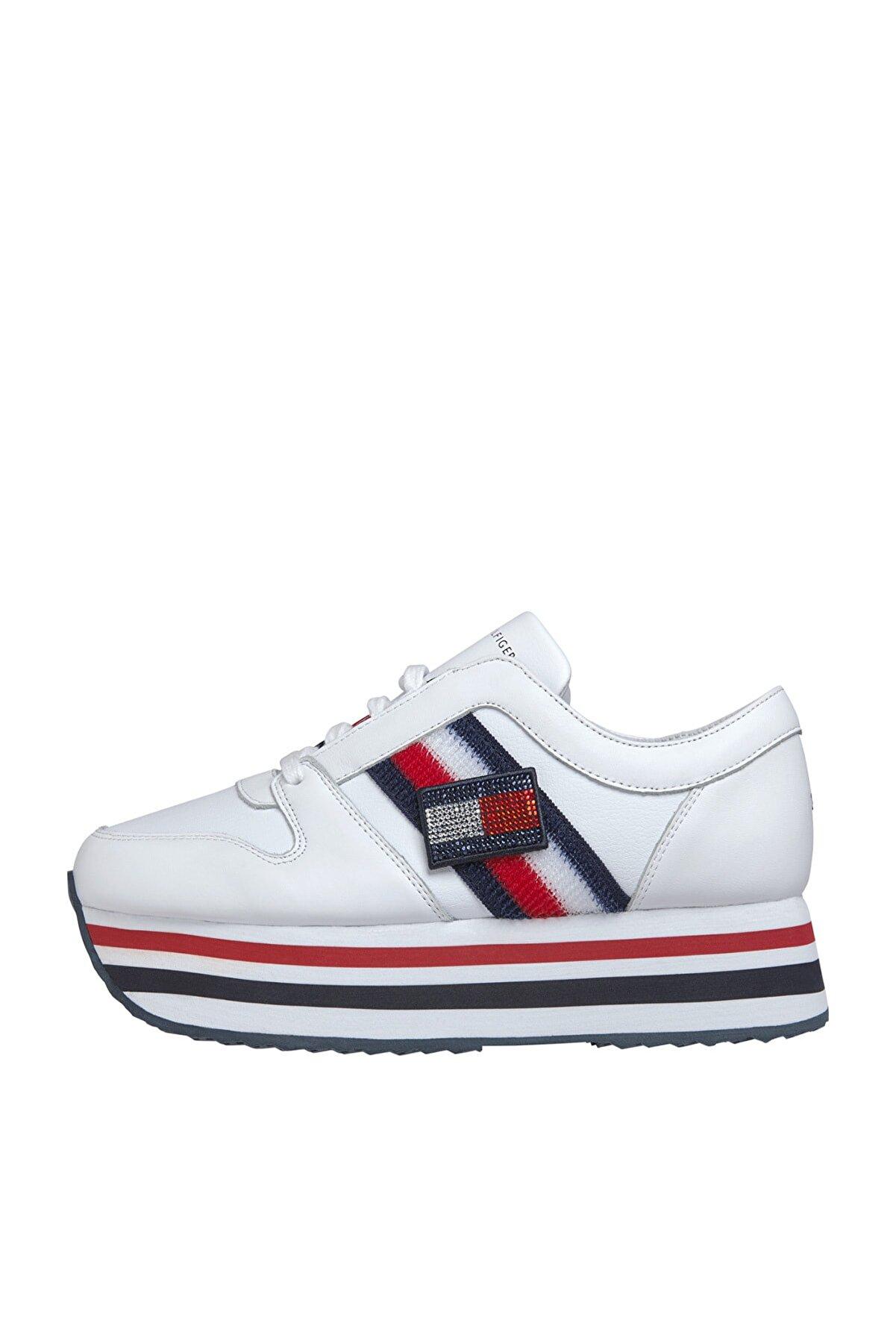 Tommy Hilfiger Kadın Customize Flatform Sneaker FW0FW04595