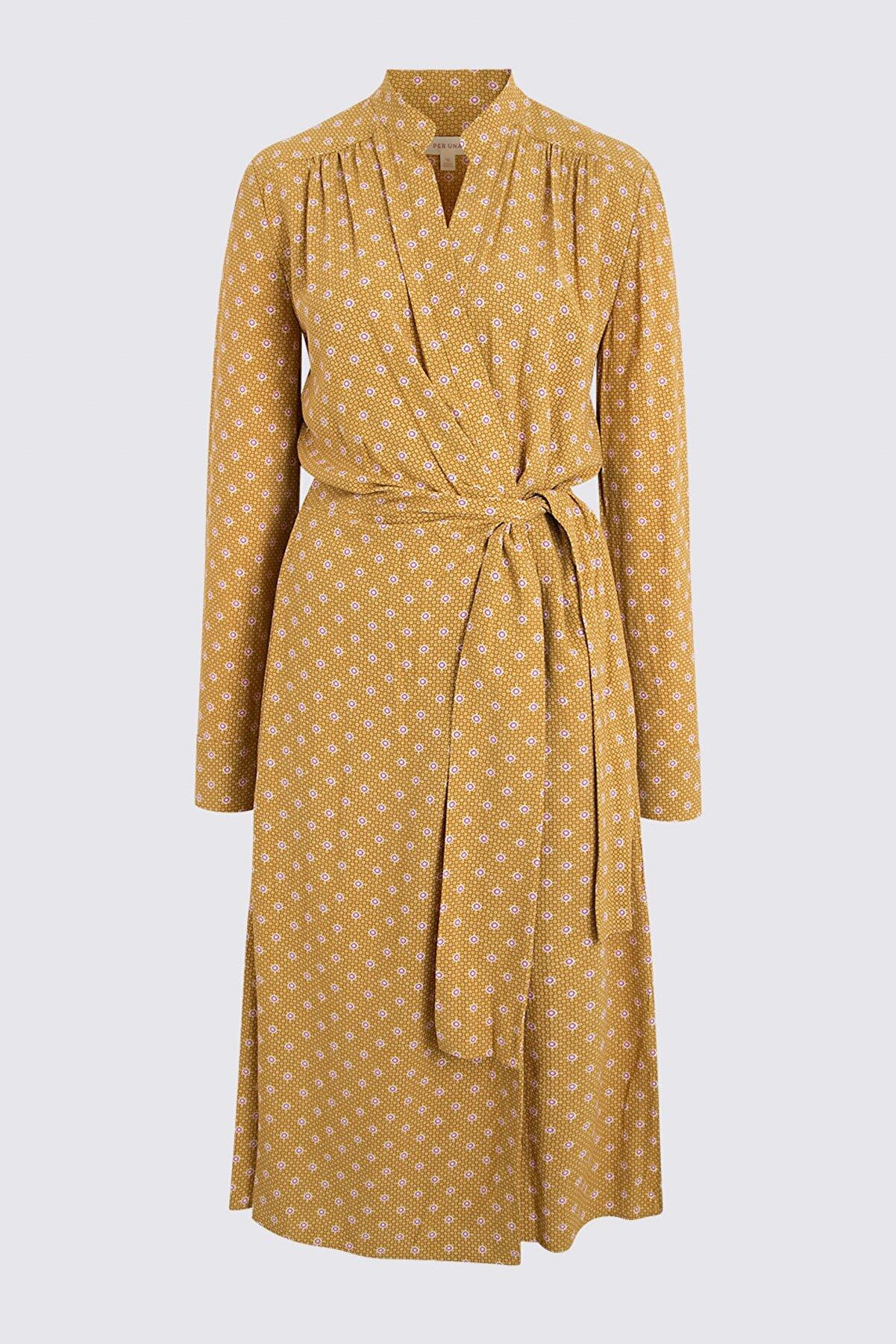 Marks & Spencer Kadın Sarı Elbise T53003212U