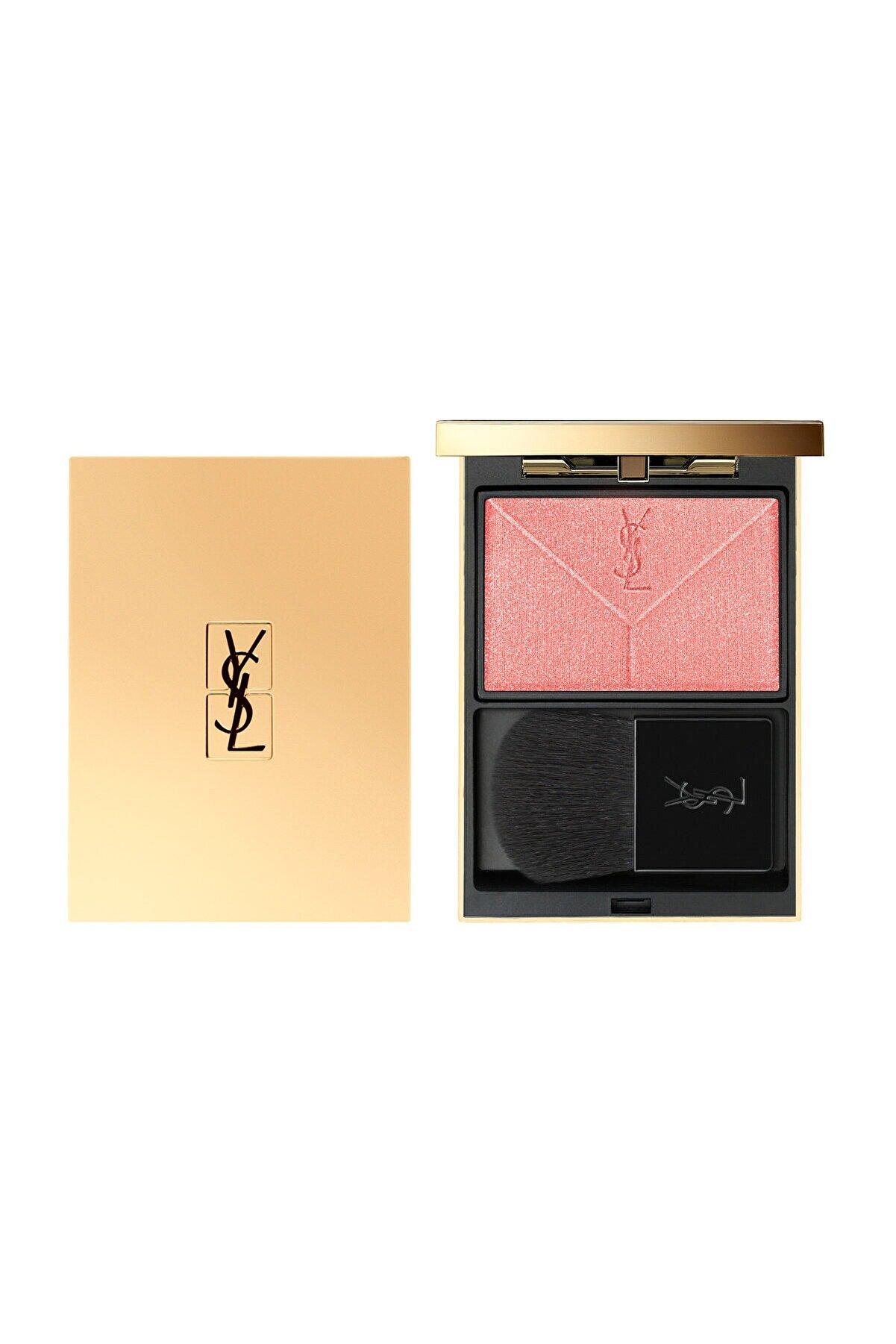 Yves Saint Laurent Couture Blush Ağırlık Yapmayan Uzun Süre Kalıcı Allık N4 - Corail Rive Gauche 3614272139008