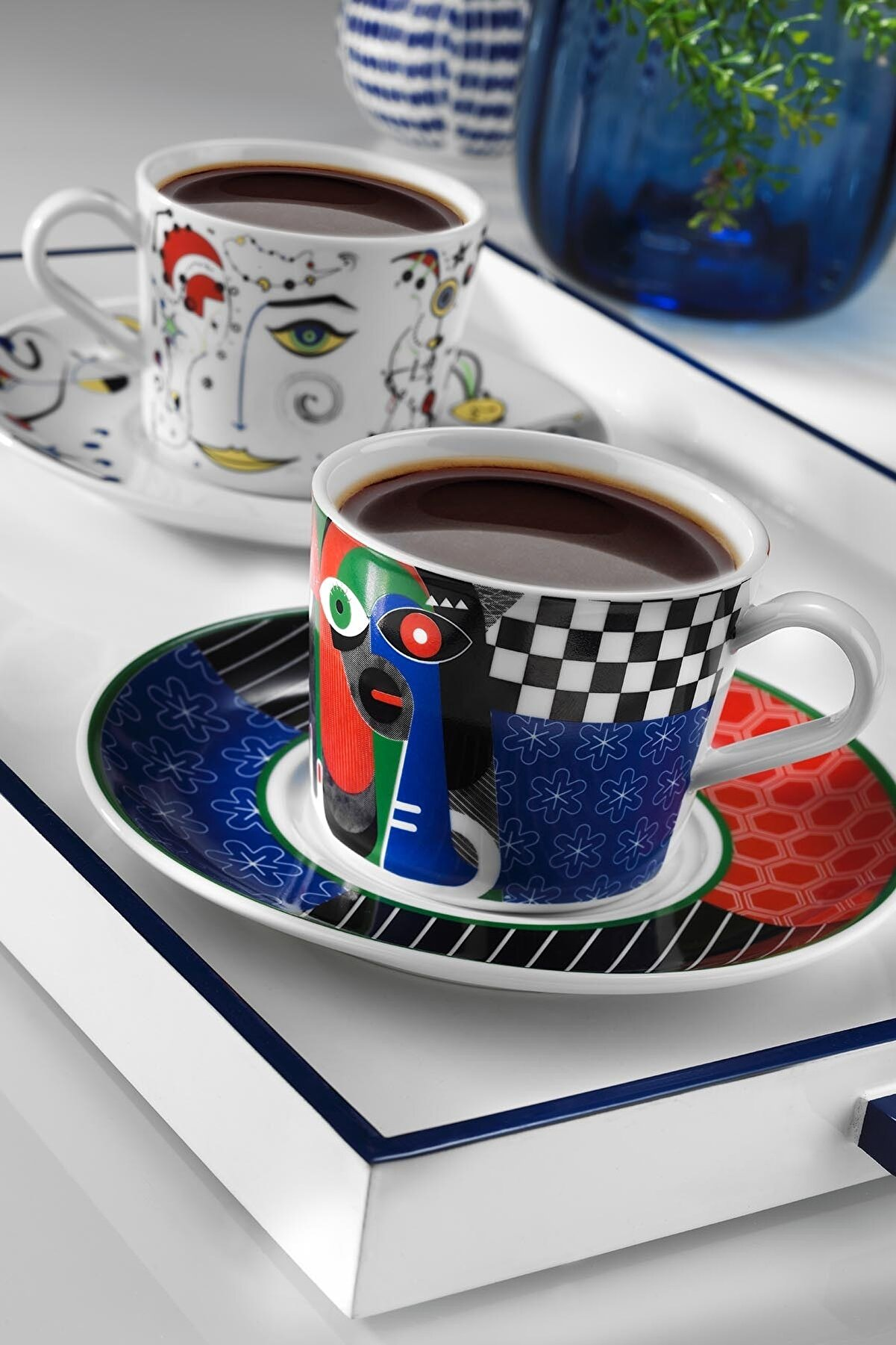 Kütahya Porselen Itır Çay Takımı 10878 Desen
