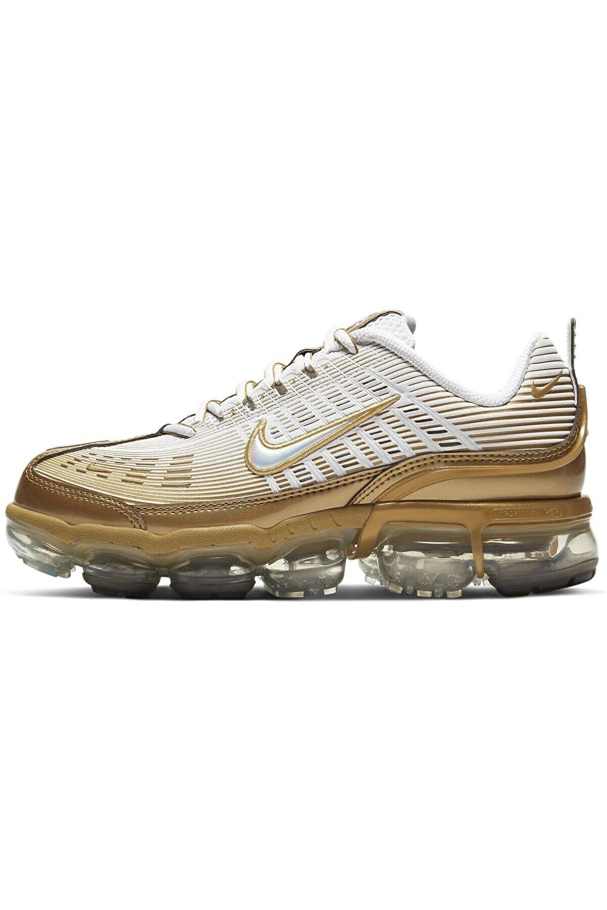 Nike Air Vapormax 360 Gold/white Kadın Spor Ayakkabı Ck9670-101
