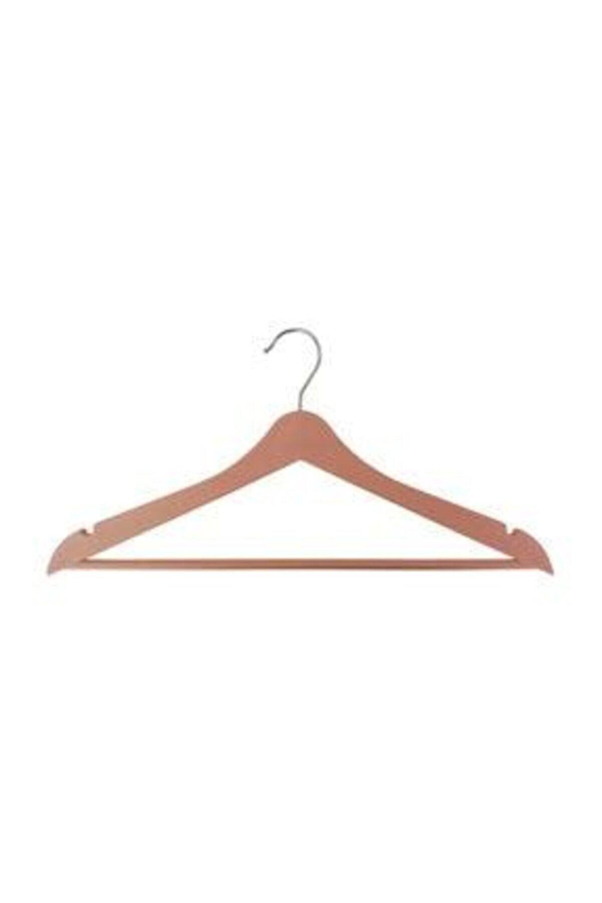 BALSA Ahşap Askı Kıyafet Ve Elbise Askısı 3 Adedi