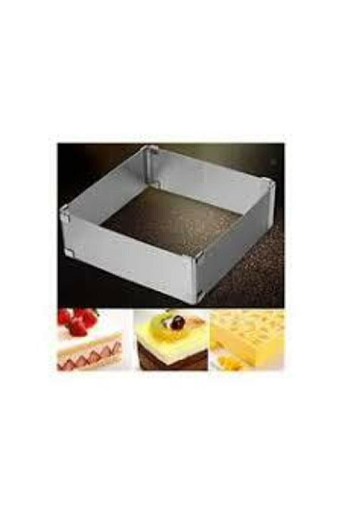 senaticaret Kare Kek Pasta Kalıbı 20x40 cm