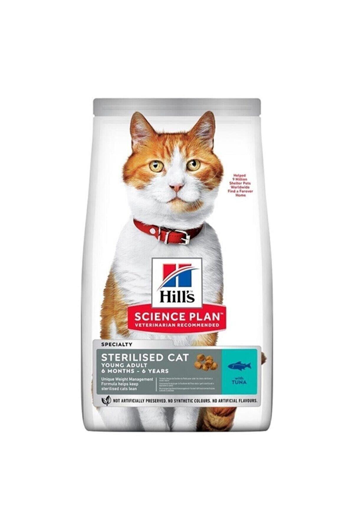 Hills Science Plan Adult Kısırlaştırılmış Kediler Için Tuna Balıklı Kedi Maması - 1,5 Kg