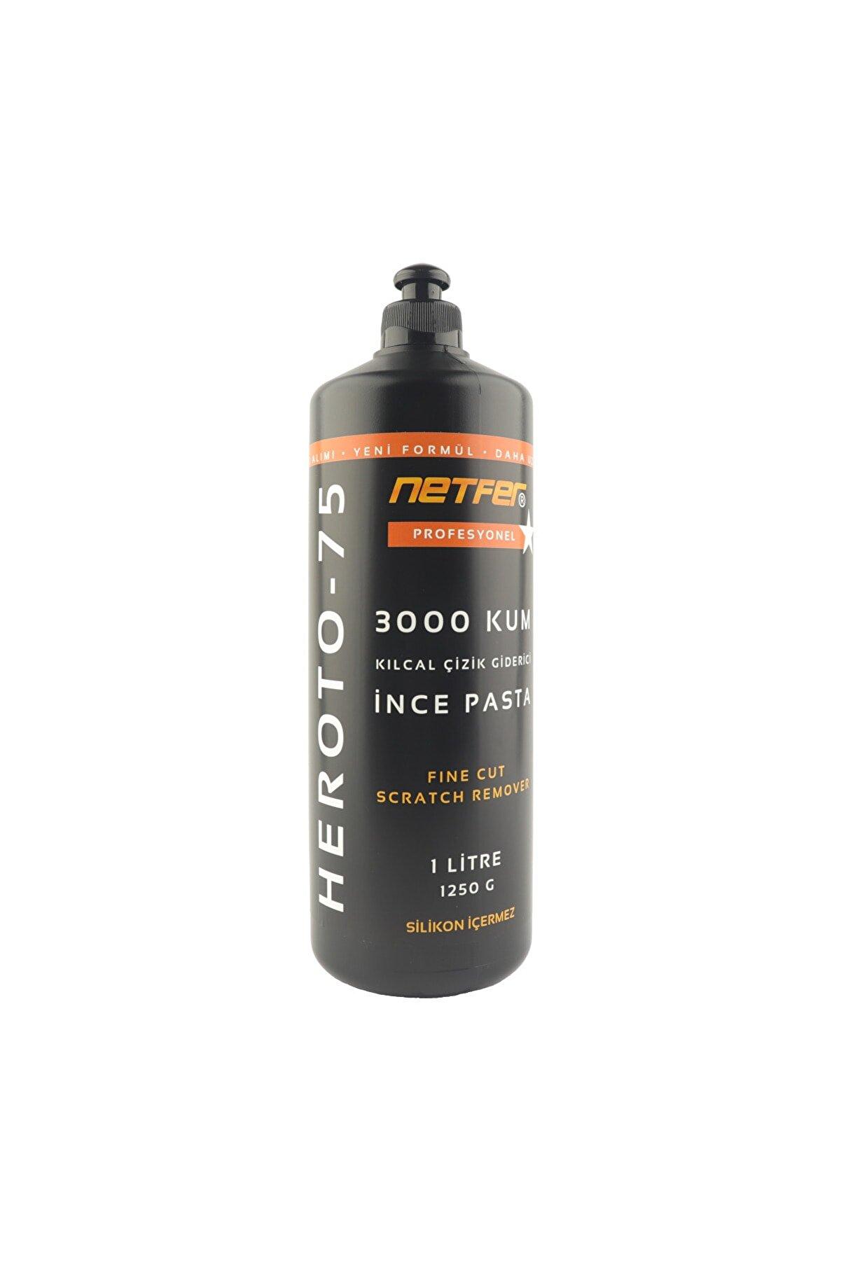 Netfer Heroto-75 Kılcal Çizik Giderici Ince Pasta - 1 Lt