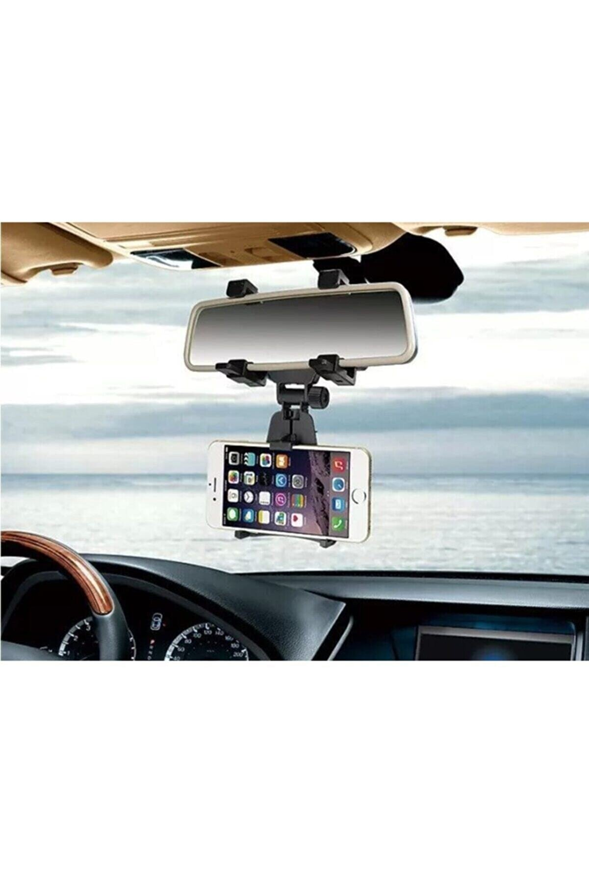CMT Araba Dikiz Aynasına Takılan Telefon Tutucu