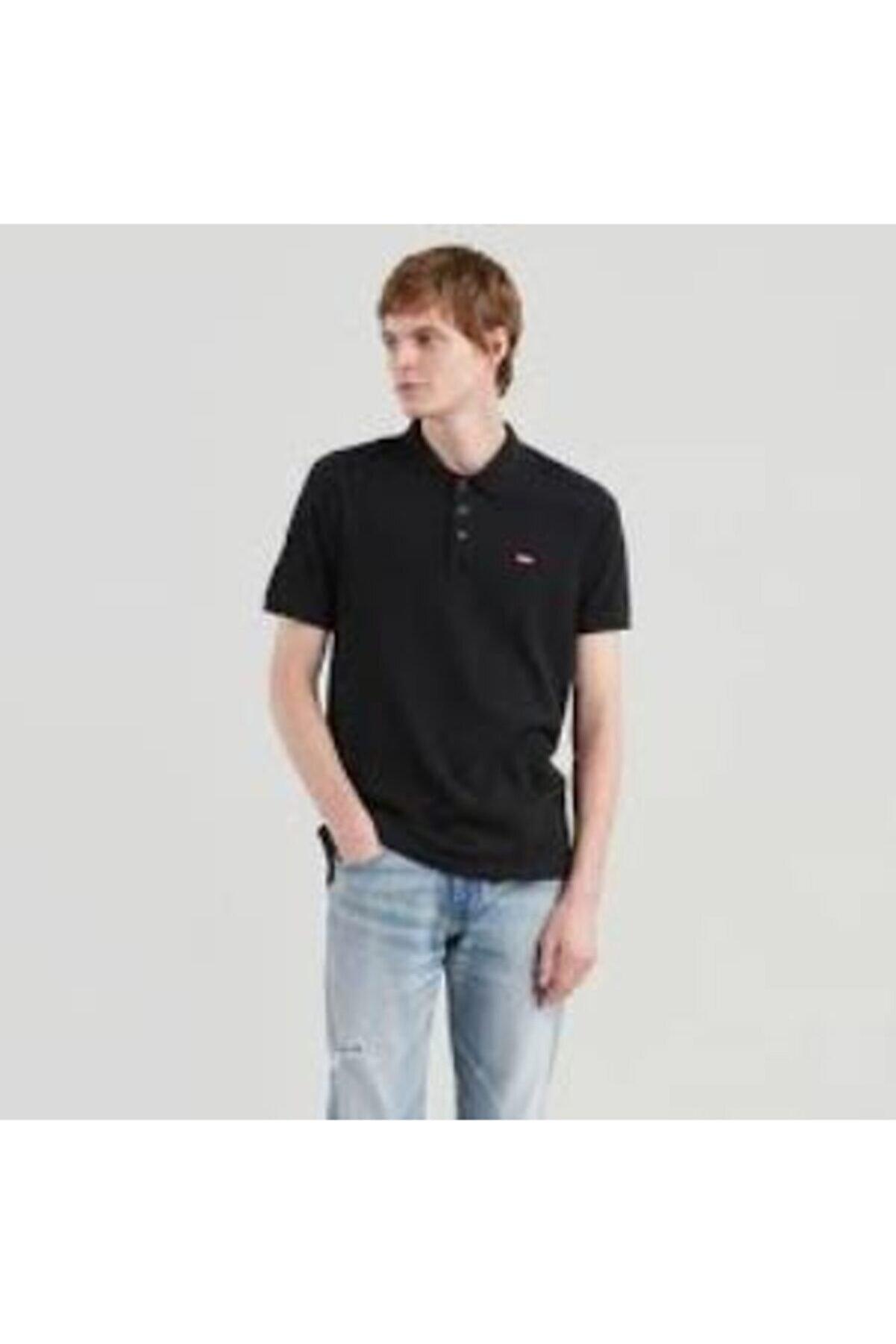 Levi's Erkek Polo Yaka Siyah Tshirt 24574-0039