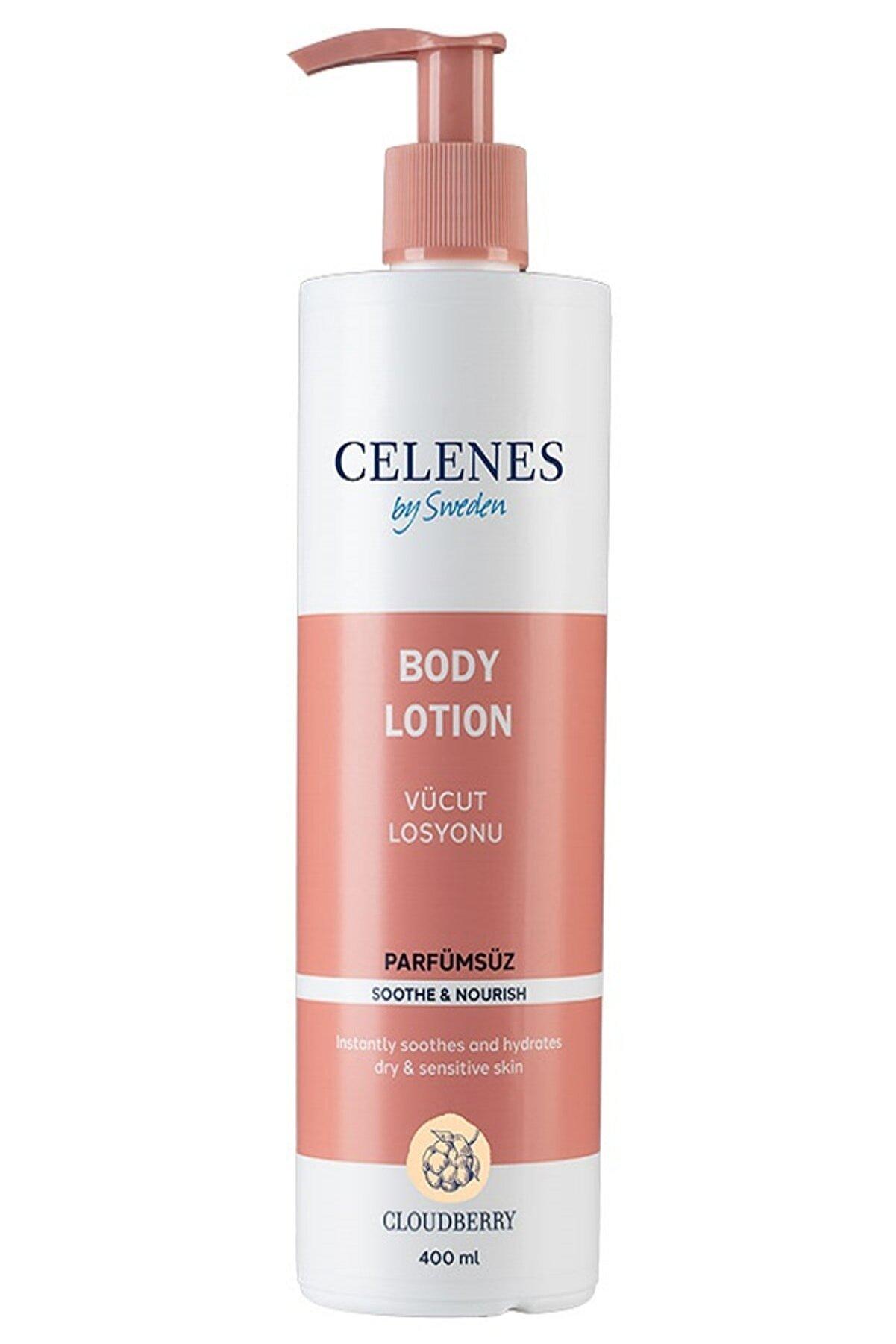 Celenes by Sweden Celenes Cloudberry Vucut Losyonu 400ml Parfumsuz 7350104248246