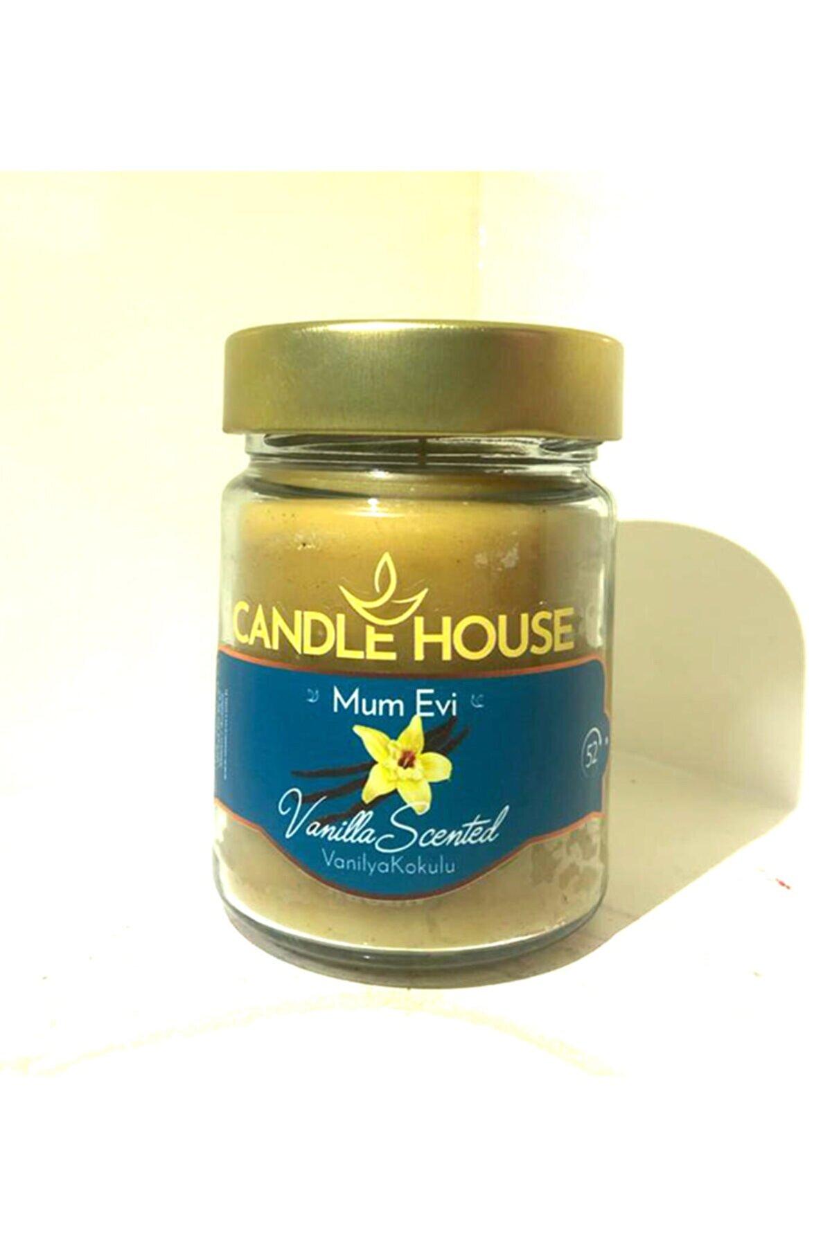Candle House Kavanoz Mum - Vanilya Kokulu