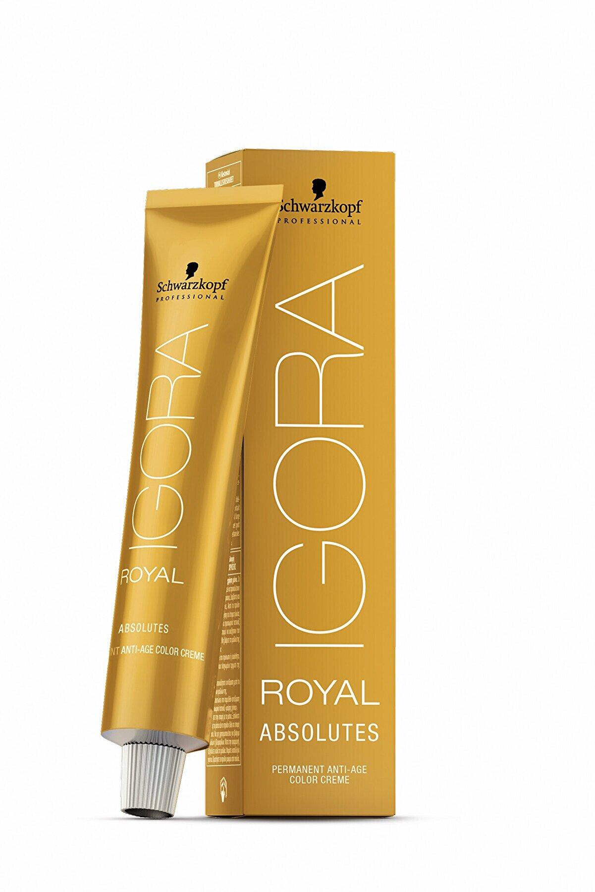 Schwarzkopf Igora Royal Absolutes Saç Boyası 60 ml 5.50 Açık Kahve