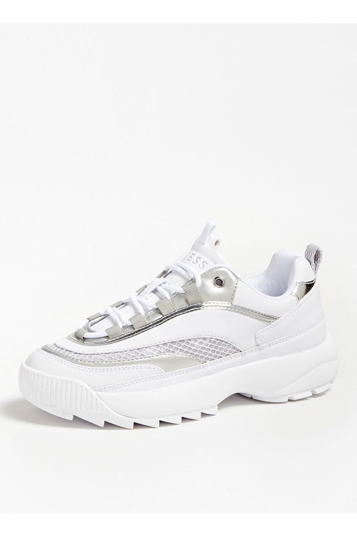 Guess Kadın Beyaz Sneakers