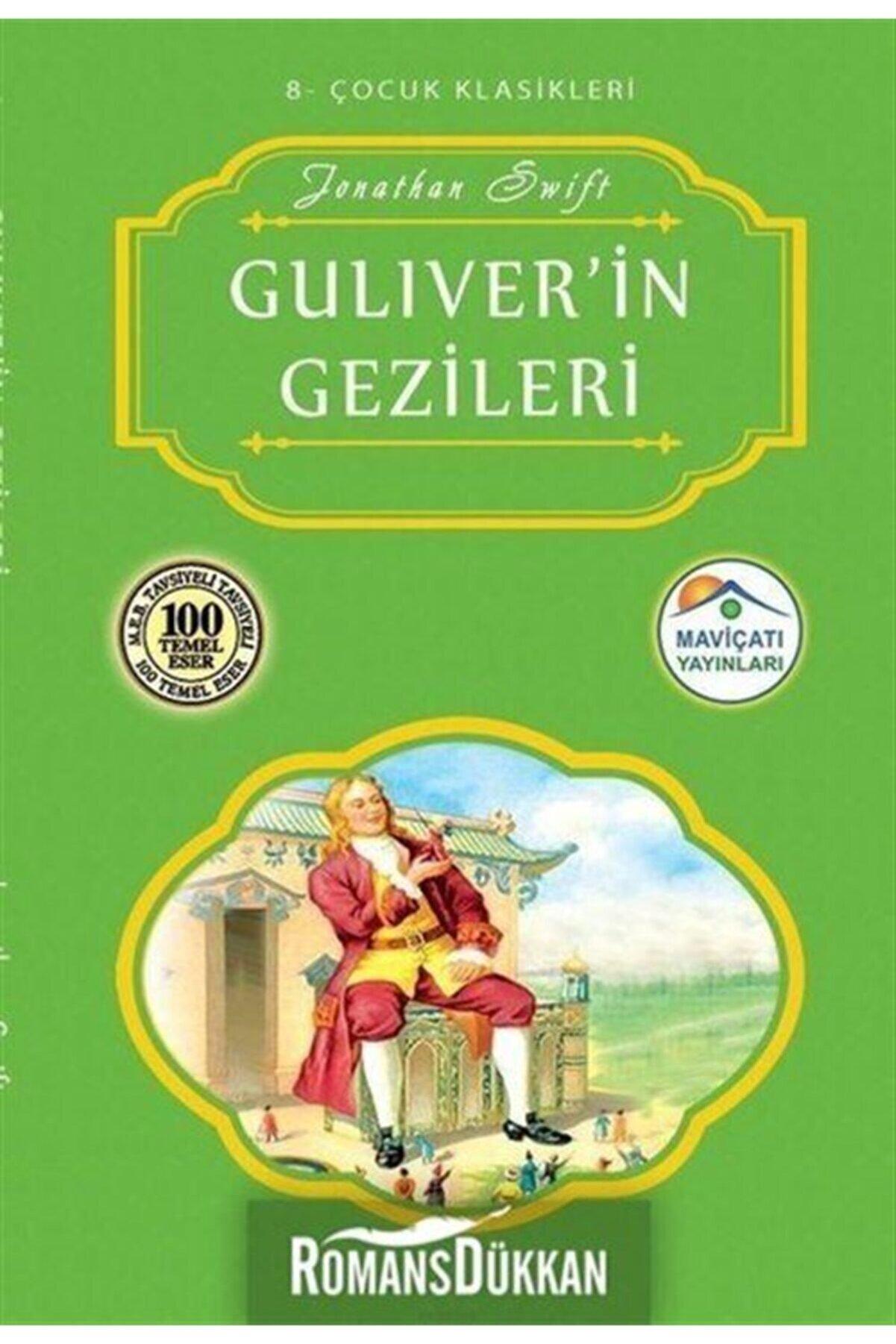 Mavi Çatı Yayınları Guliver'in Gezileri-çocuk Klasikleri 8